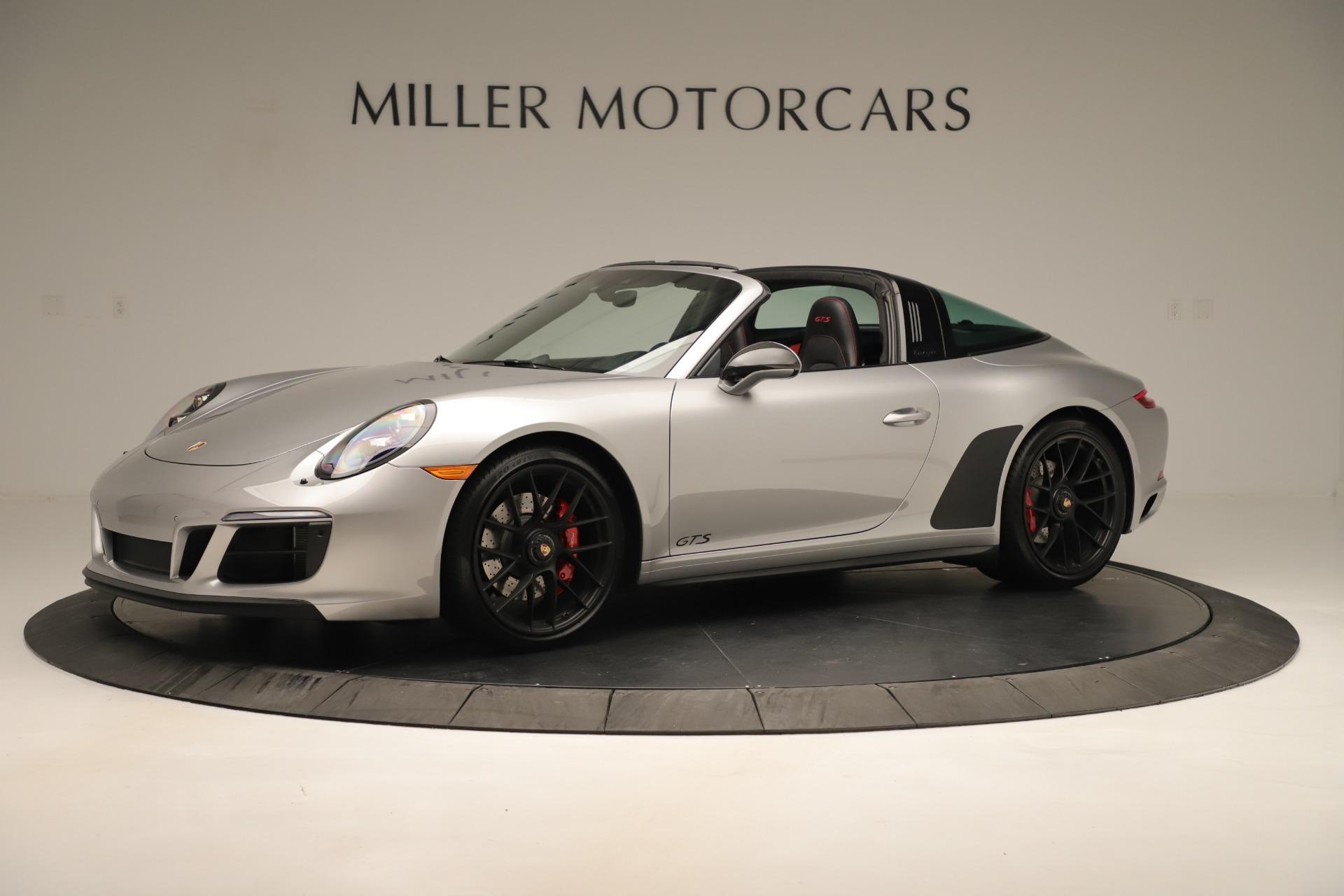 Used 2017 Porsche 911 Targa 4 GTS For Sale In Westport, CT 3374_p2