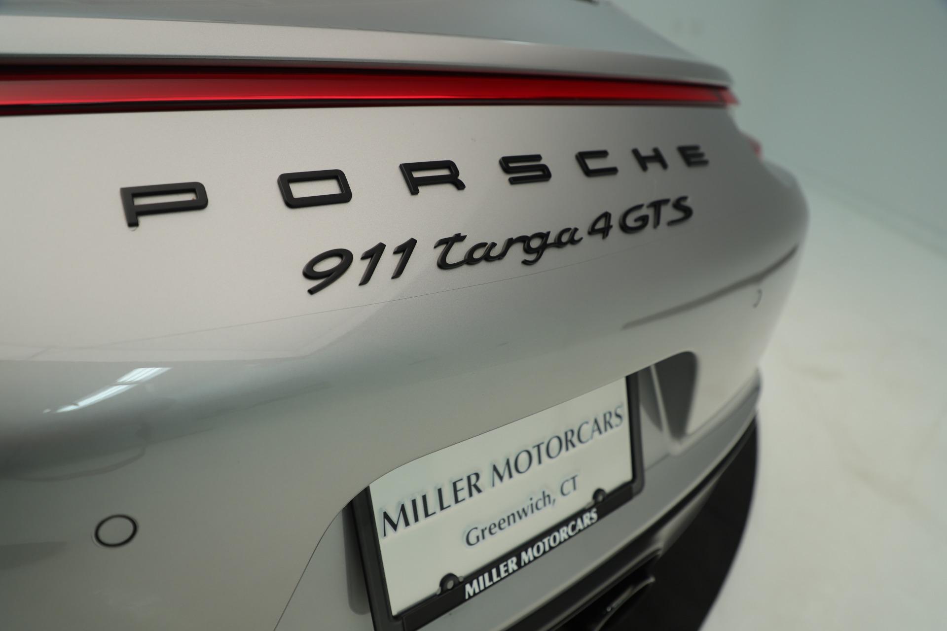 Used 2017 Porsche 911 Targa 4 GTS For Sale In Westport, CT 3374_p30
