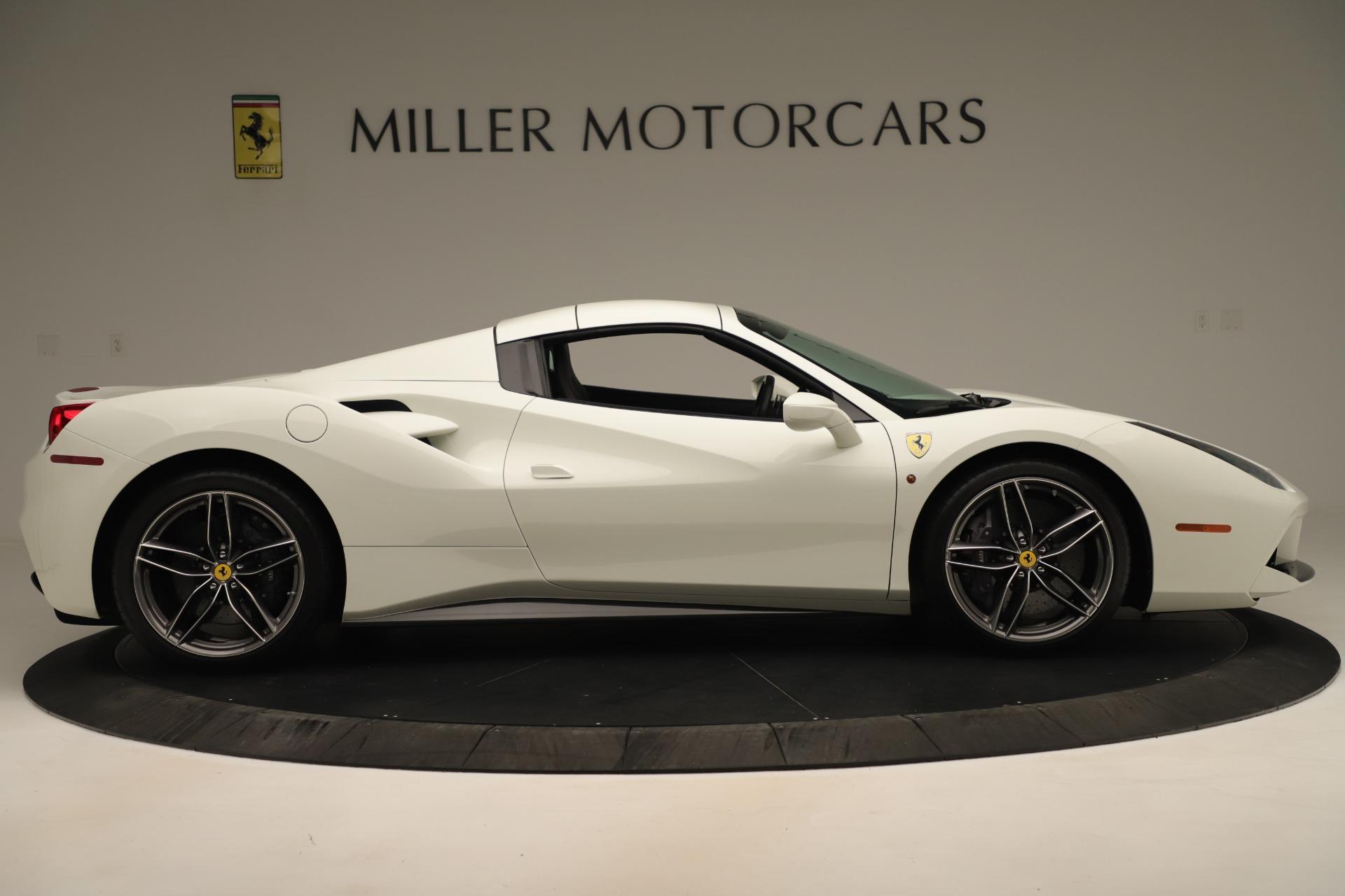 Used 2016 Ferrari 488 Spider  For Sale In Westport, CT 3375_p17