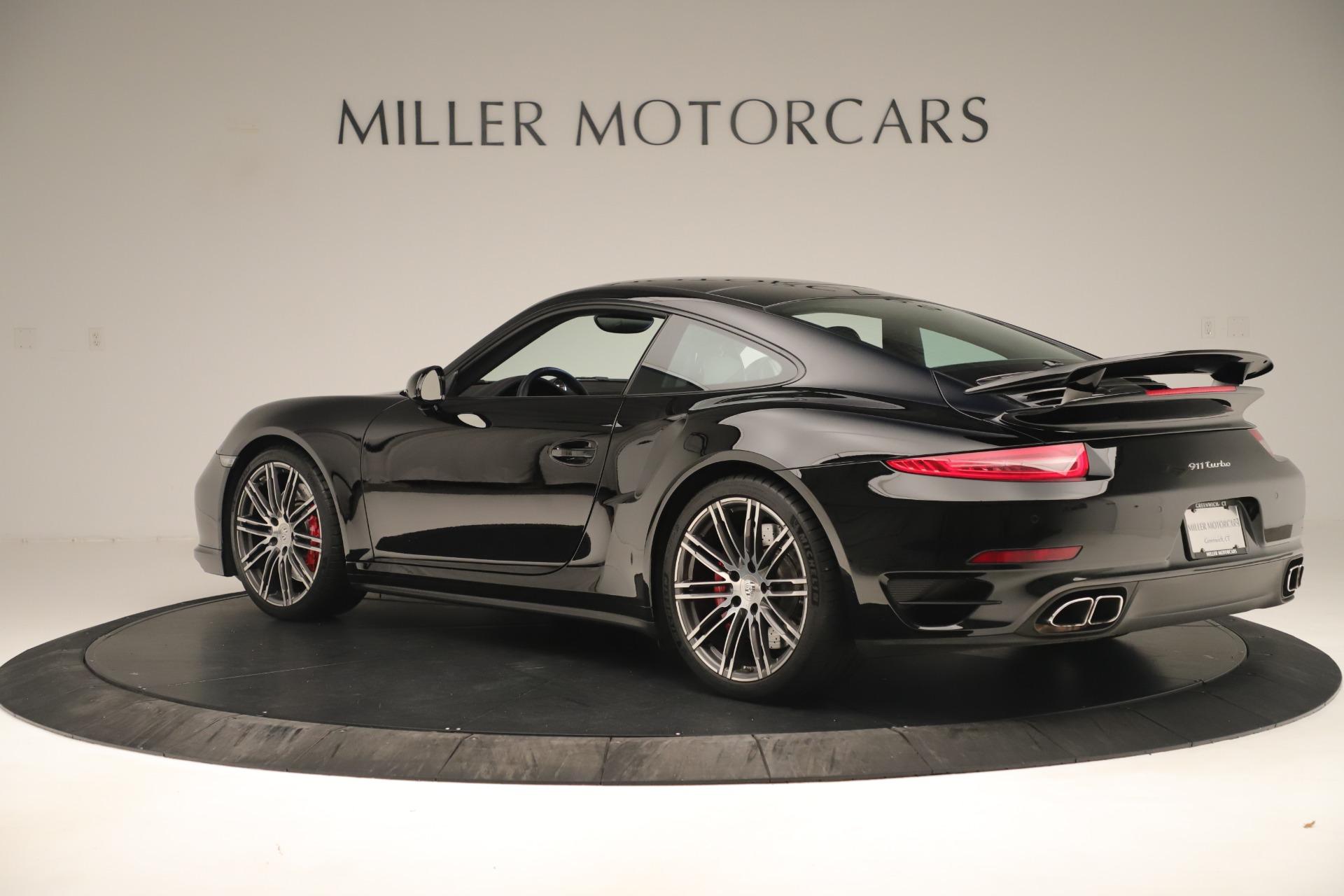 Used 2014 Porsche 911 Turbo For Sale In Westport, CT 3382_p4