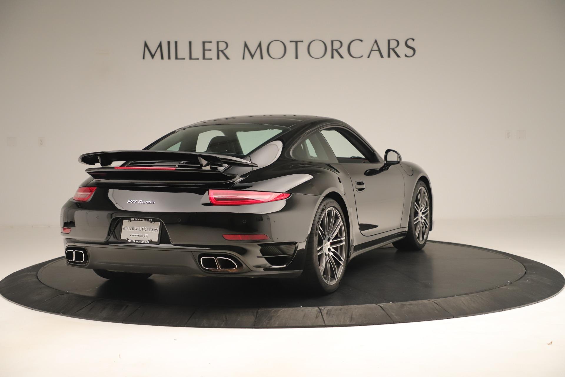 Used 2014 Porsche 911 Turbo For Sale In Westport, CT 3382_p7