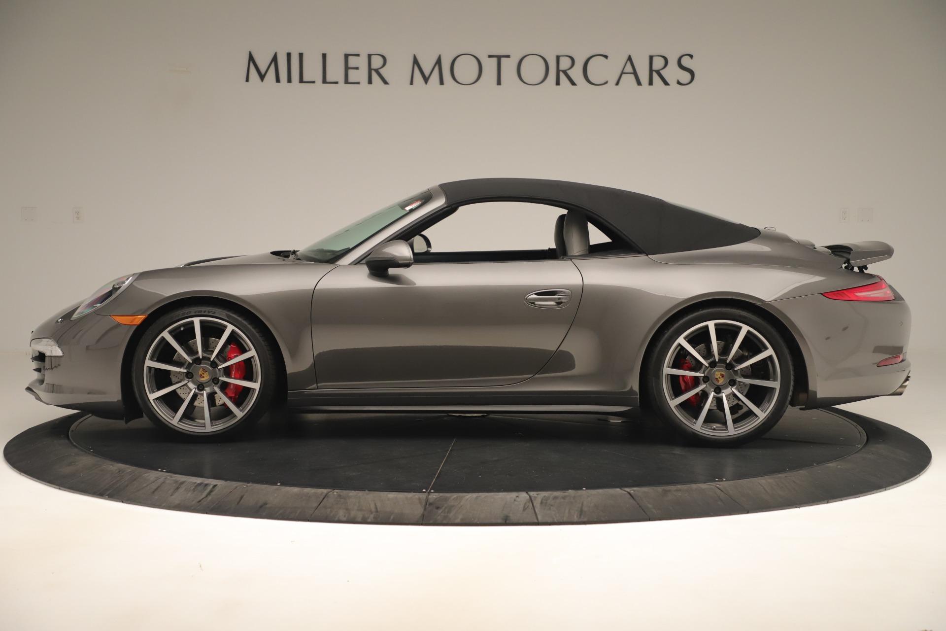 Used 2015 Porsche 911 Carrera 4S For Sale In Westport, CT 3383_p13