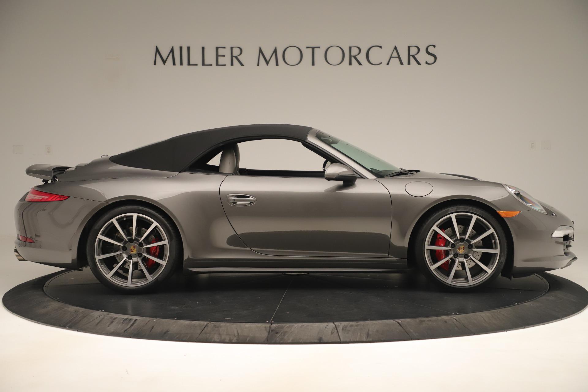 Used 2015 Porsche 911 Carrera 4S For Sale In Westport, CT 3383_p16