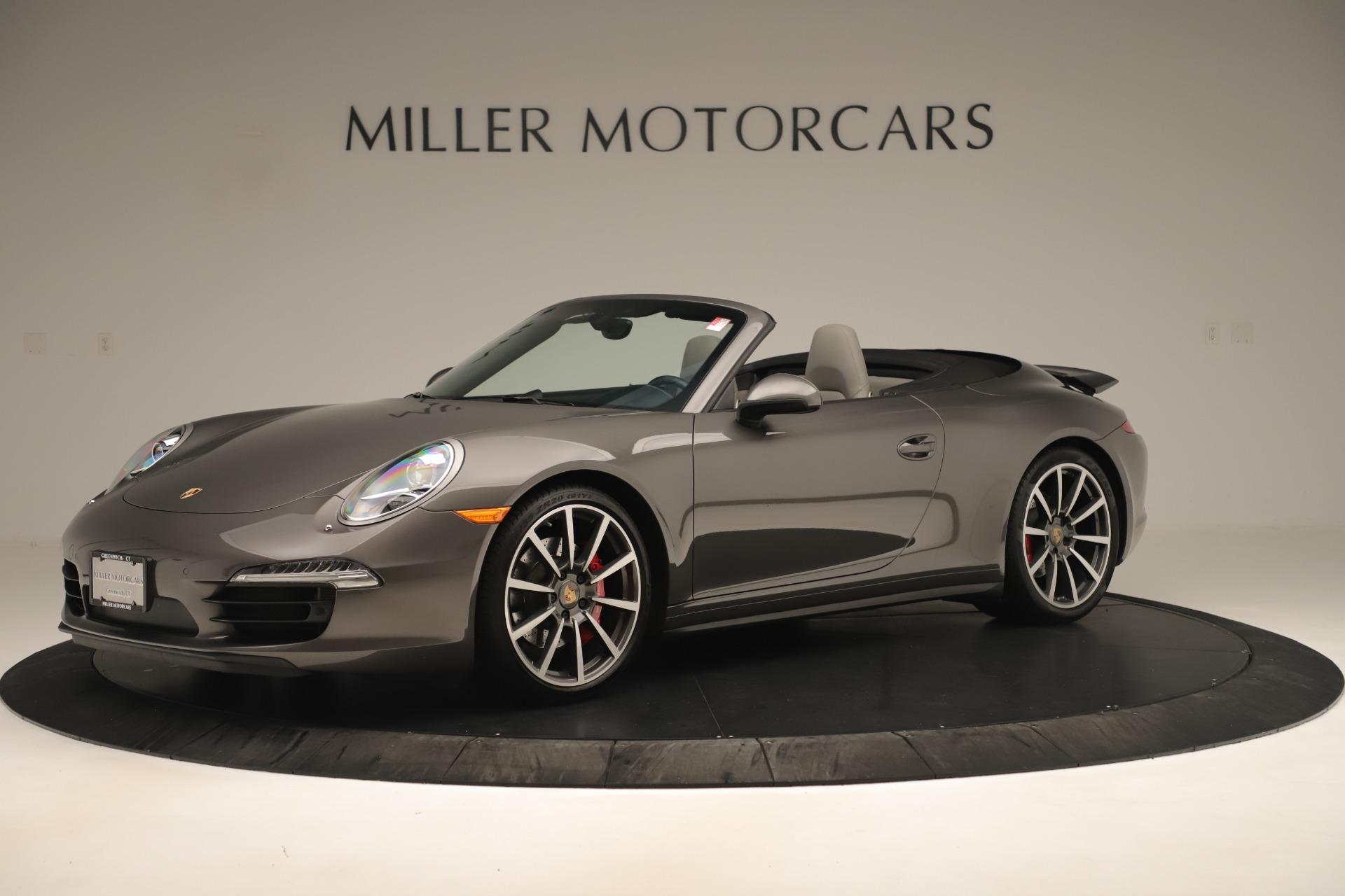 Used 2015 Porsche 911 Carrera 4S For Sale In Westport, CT 3383_p2