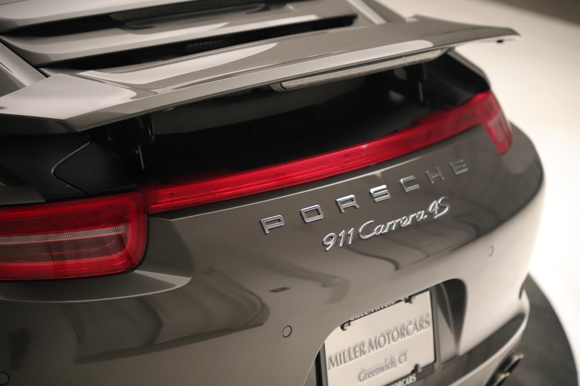 Used 2015 Porsche 911 Carrera 4S For Sale In Westport, CT 3383_p31