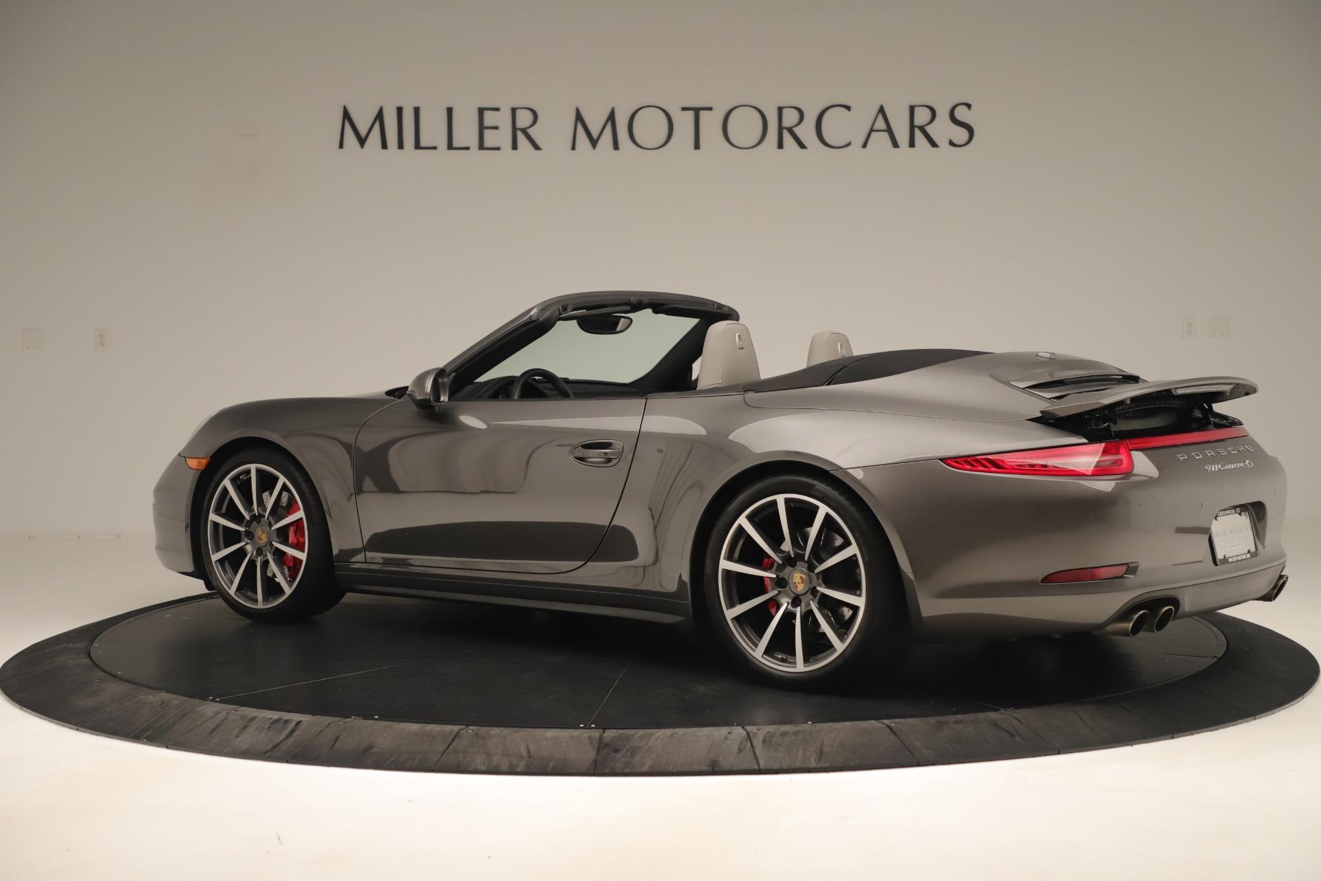 Used 2015 Porsche 911 Carrera 4S For Sale In Westport, CT 3383_p4