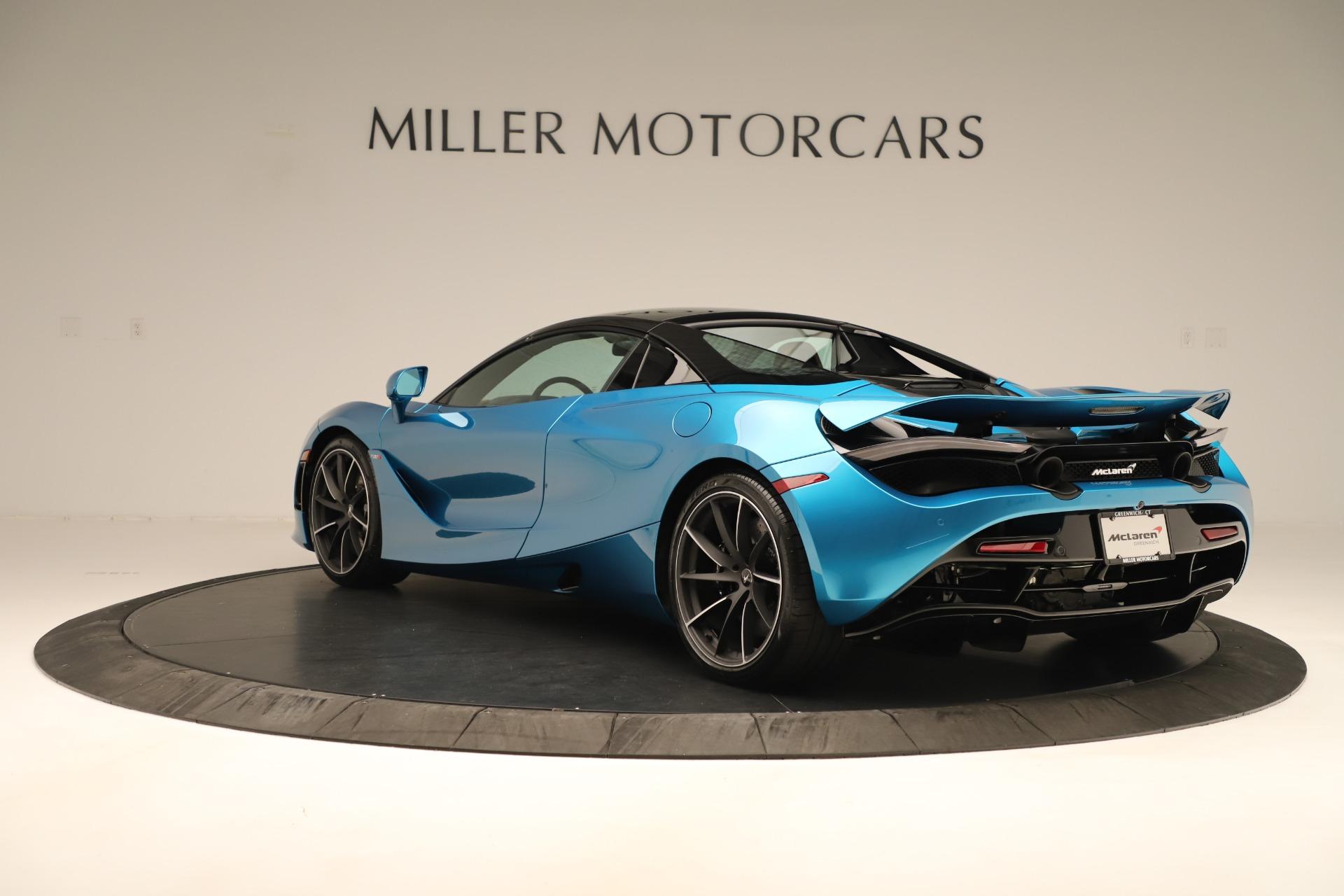 New 2020 McLaren 720S Spider For Sale In Westport, CT 3387_p4