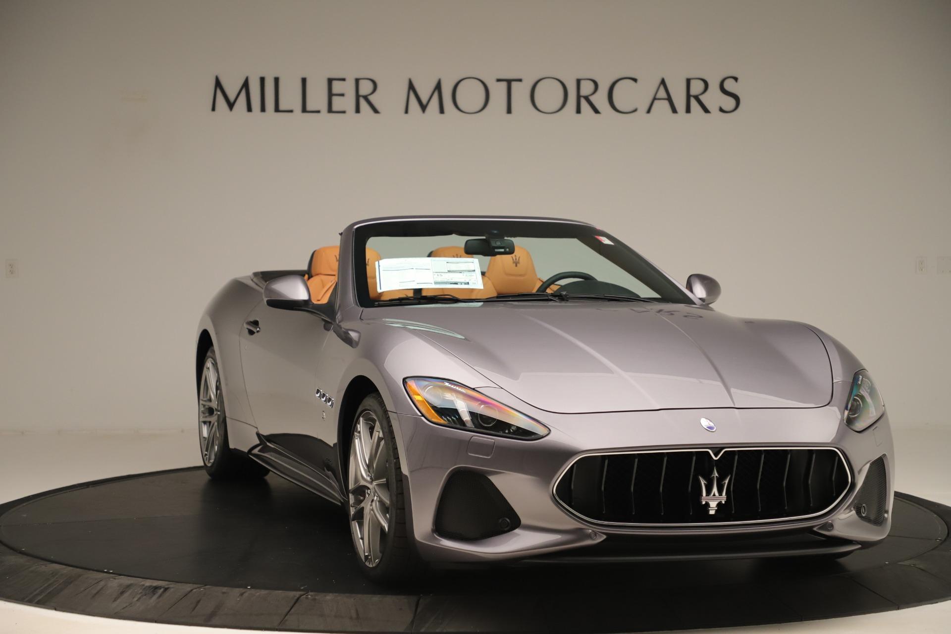 New 2019 Maserati GranTurismo Sport Convertible For Sale In Westport, CT 3410_p11