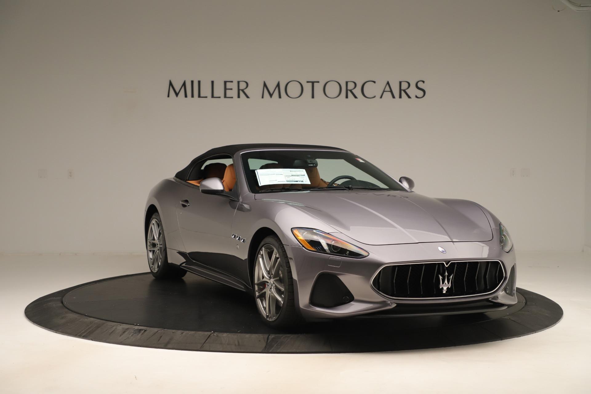 New 2019 Maserati GranTurismo Sport Convertible For Sale In Westport, CT 3410_p18