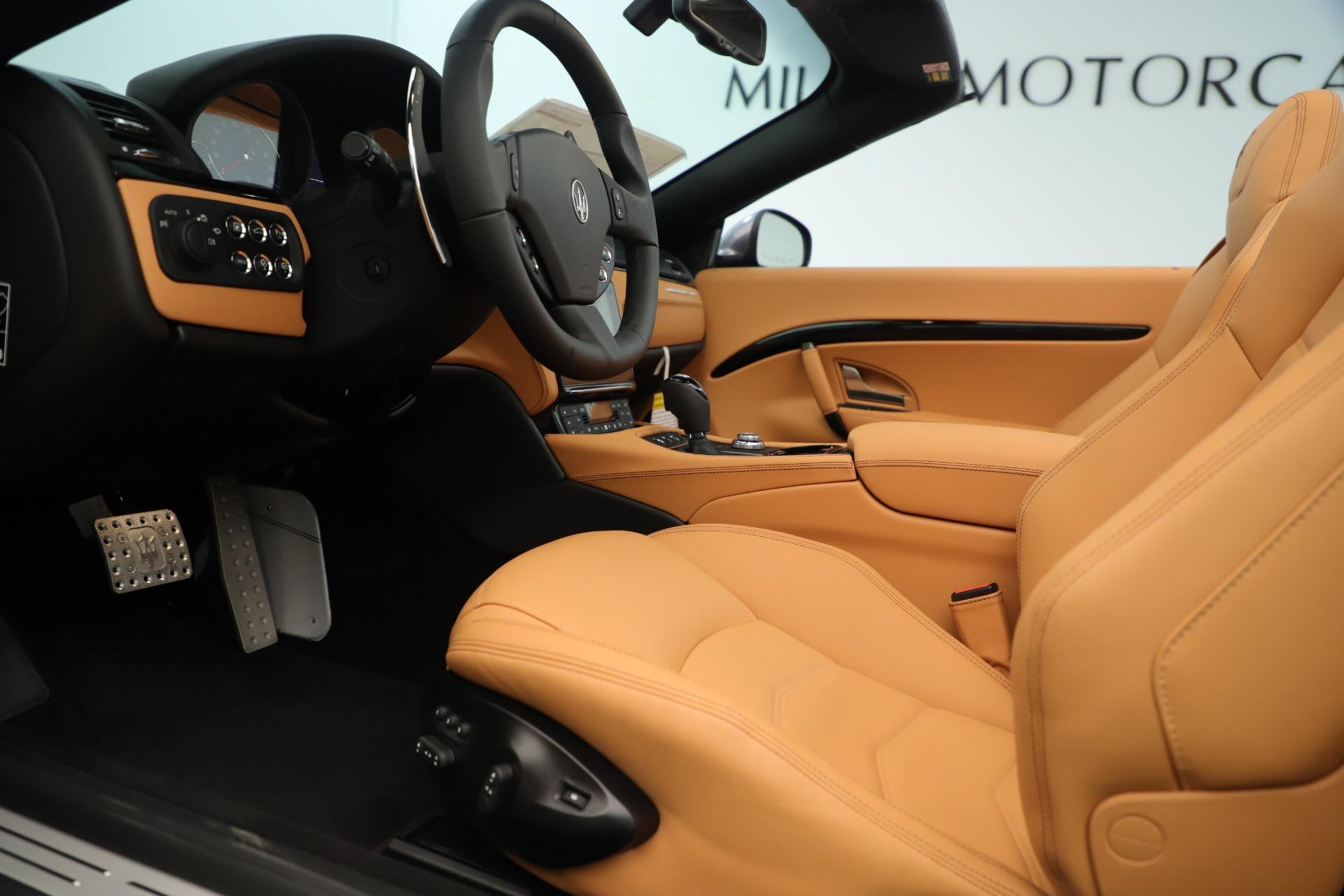 New 2019 Maserati GranTurismo Sport Convertible For Sale In Westport, CT 3410_p20