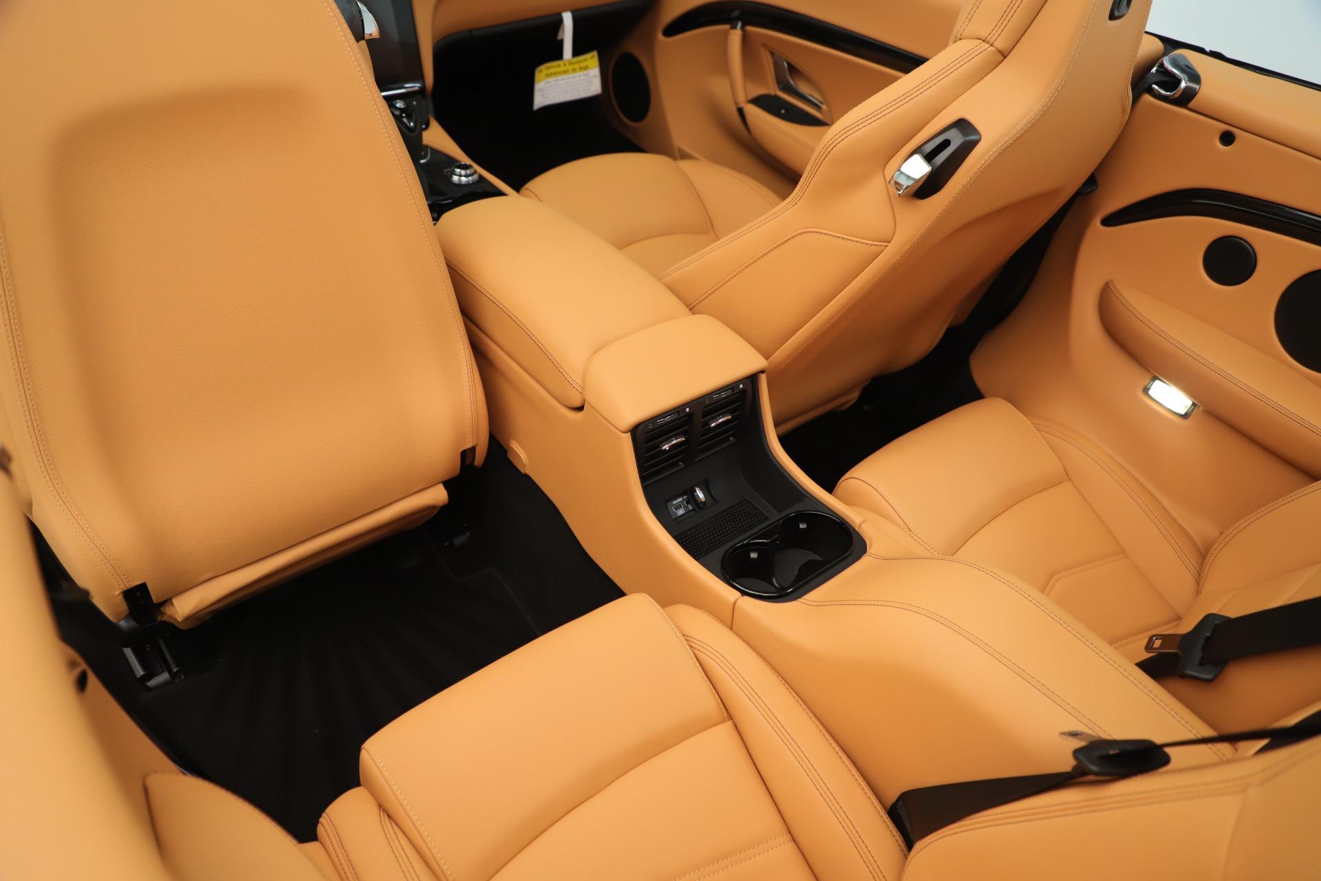 New 2019 Maserati GranTurismo Sport Convertible For Sale In Westport, CT 3410_p25