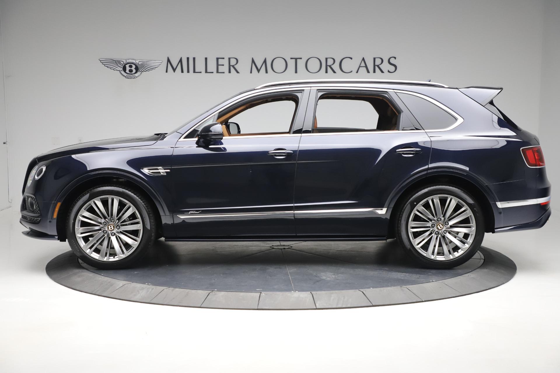 New 2020 Bentley Bentayga Speed For Sale In Westport, CT 3421_p3