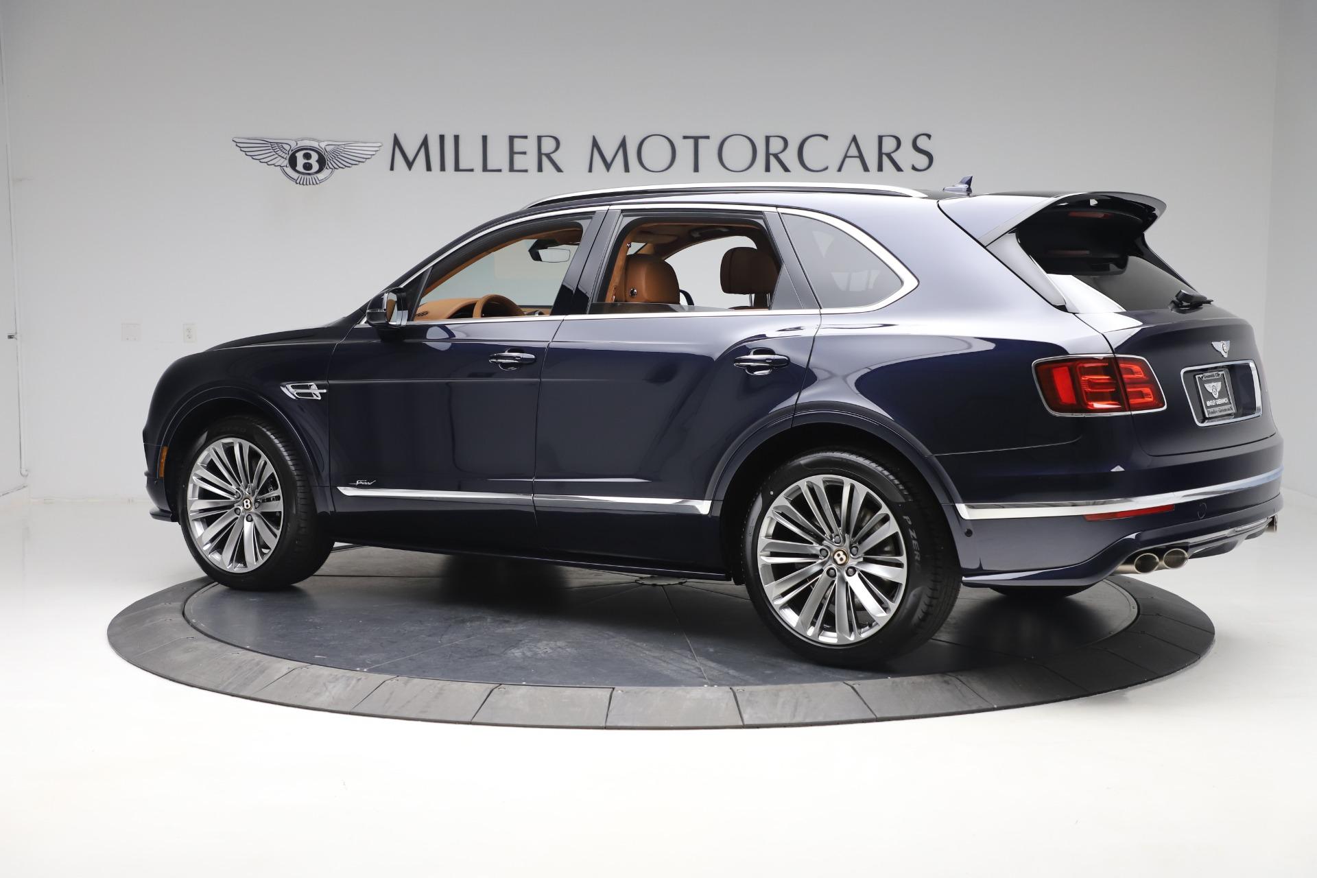 New 2020 Bentley Bentayga Speed For Sale In Westport, CT 3421_p4