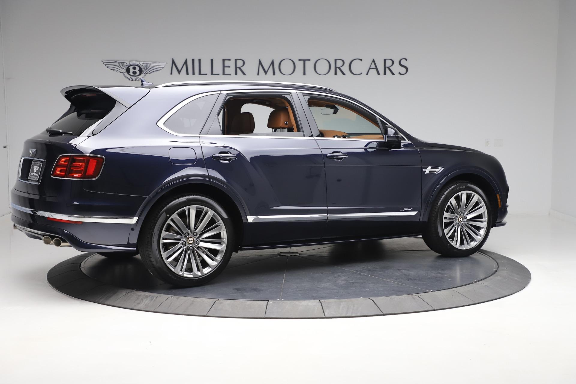 New 2020 Bentley Bentayga Speed For Sale In Westport, CT 3421_p8