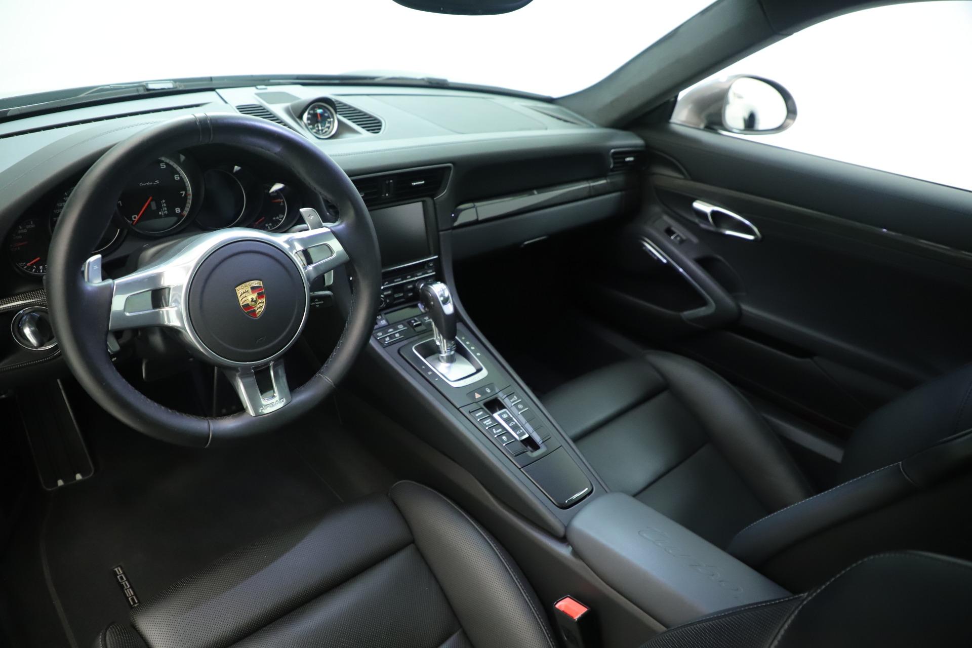 Used 2015 Porsche 911 Turbo S For Sale In Westport, CT 3429_p14