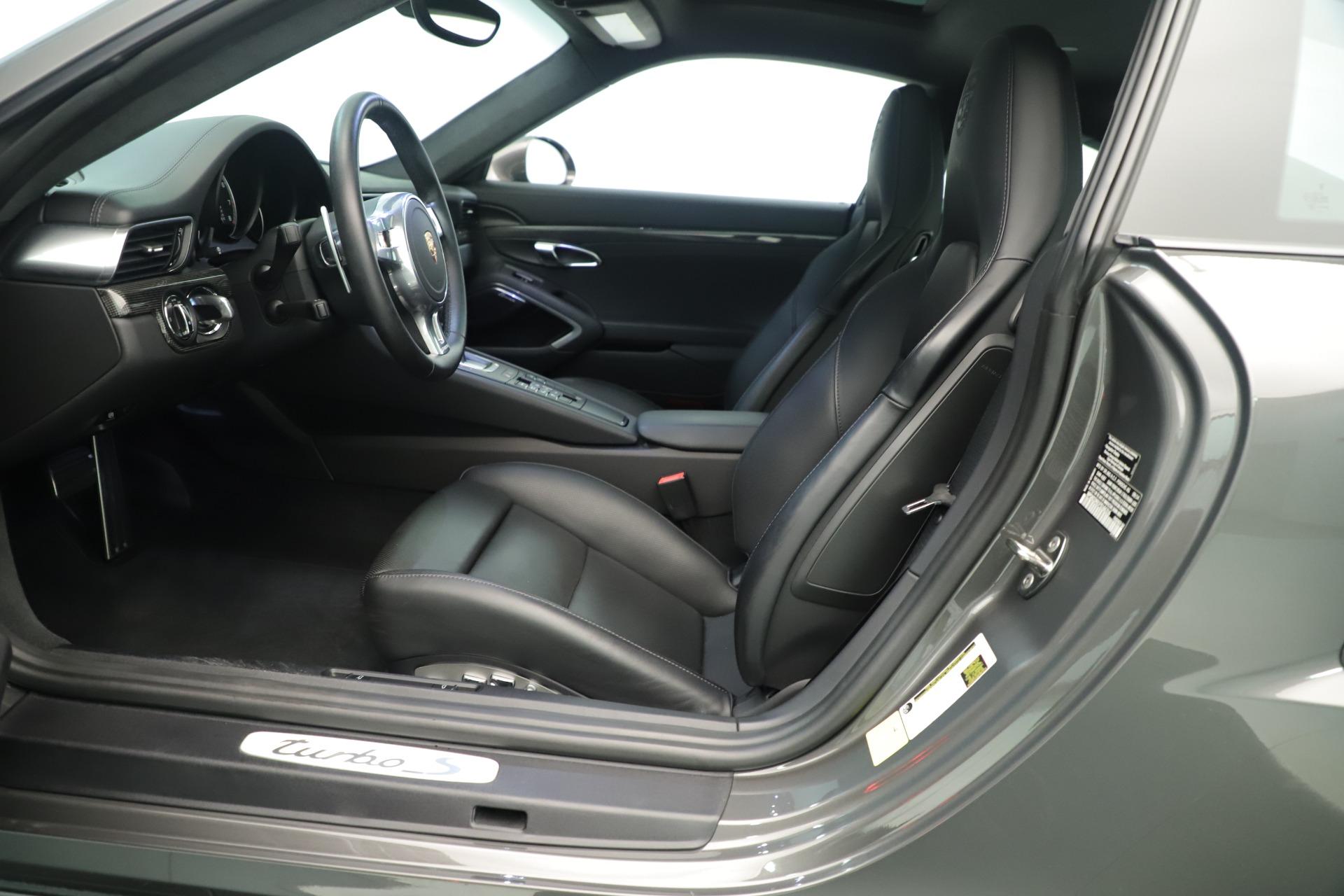 Used 2015 Porsche 911 Turbo S For Sale In Westport, CT 3429_p15
