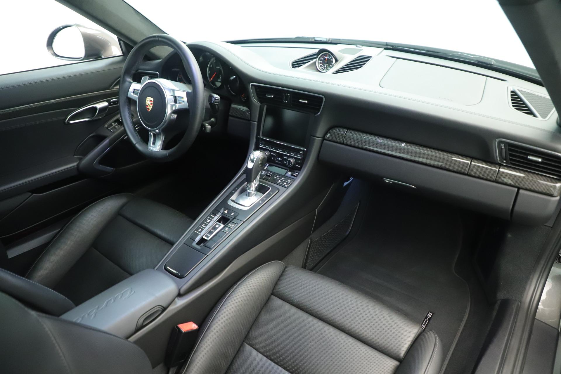 Used 2015 Porsche 911 Turbo S For Sale In Westport, CT 3429_p18