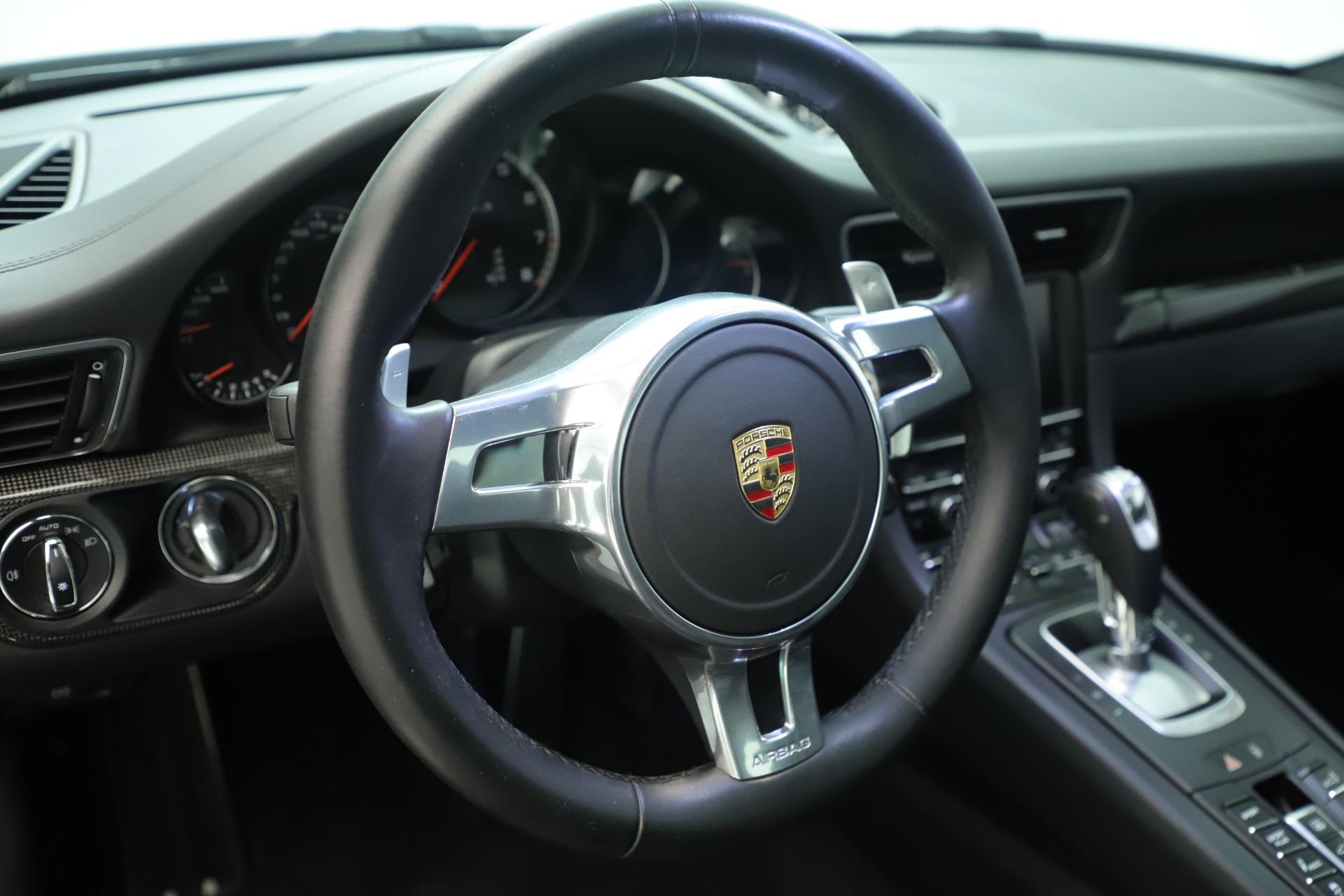 Used 2015 Porsche 911 Turbo S For Sale In Westport, CT 3429_p23