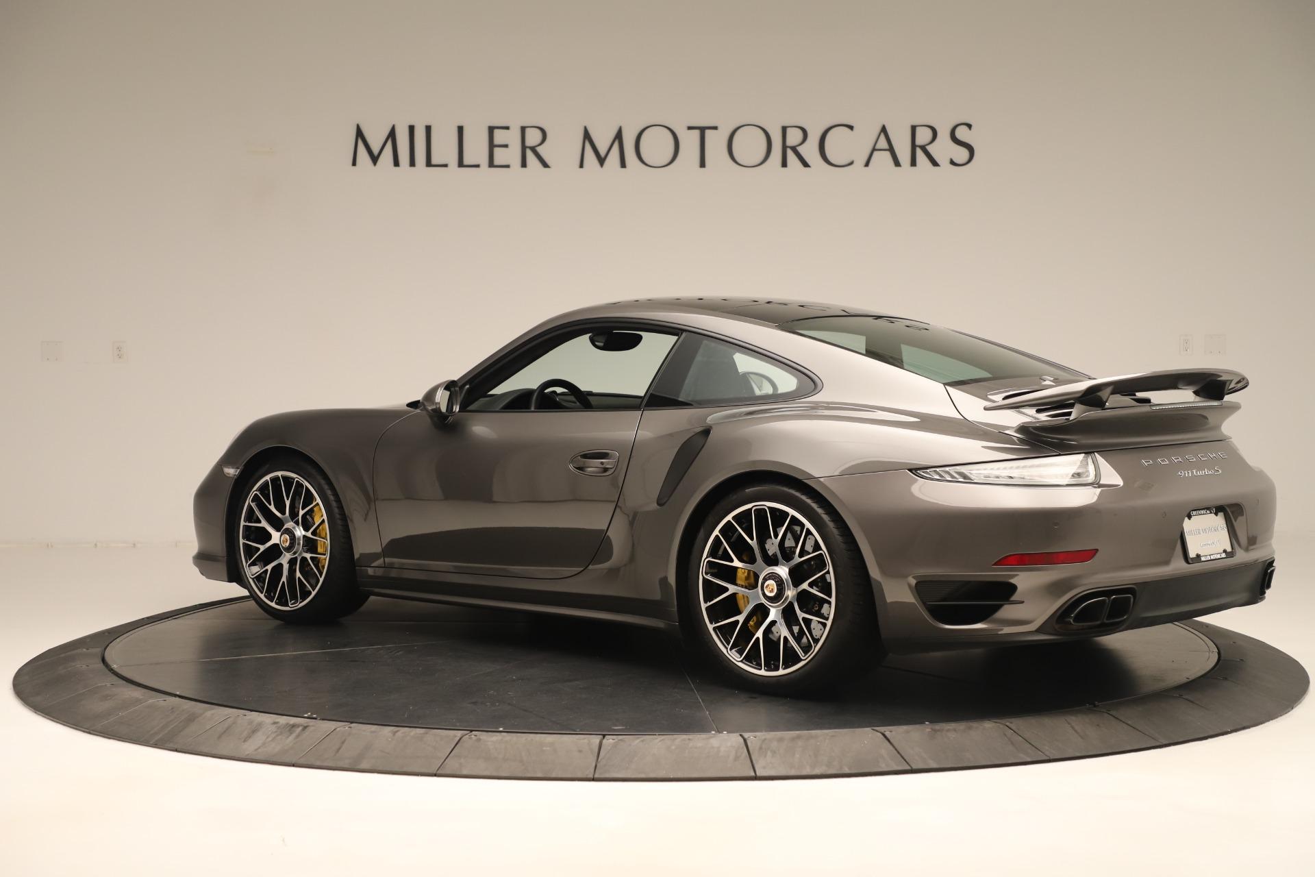 Used 2015 Porsche 911 Turbo S For Sale In Westport, CT 3429_p4