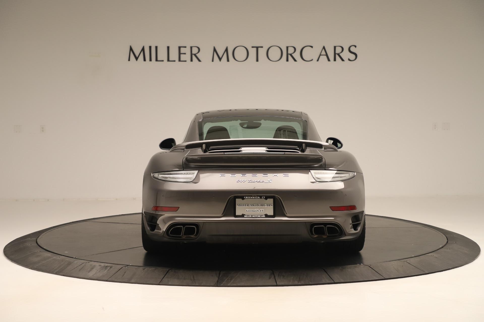 Used 2015 Porsche 911 Turbo S For Sale In Westport, CT 3429_p6