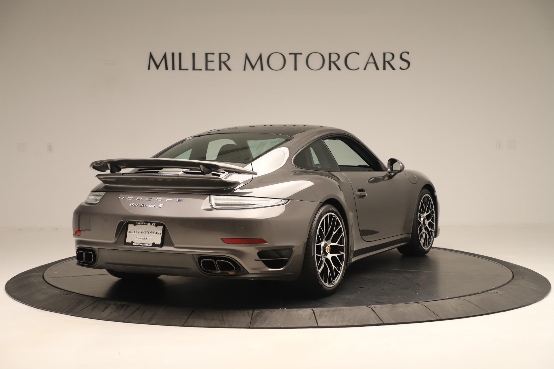 Used 2015 Porsche 911 Turbo S For Sale In Westport, CT 3429_p7
