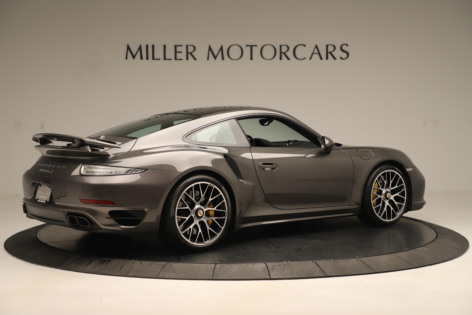 Used 2015 Porsche 911 Turbo S For Sale In Westport, CT 3429_p8