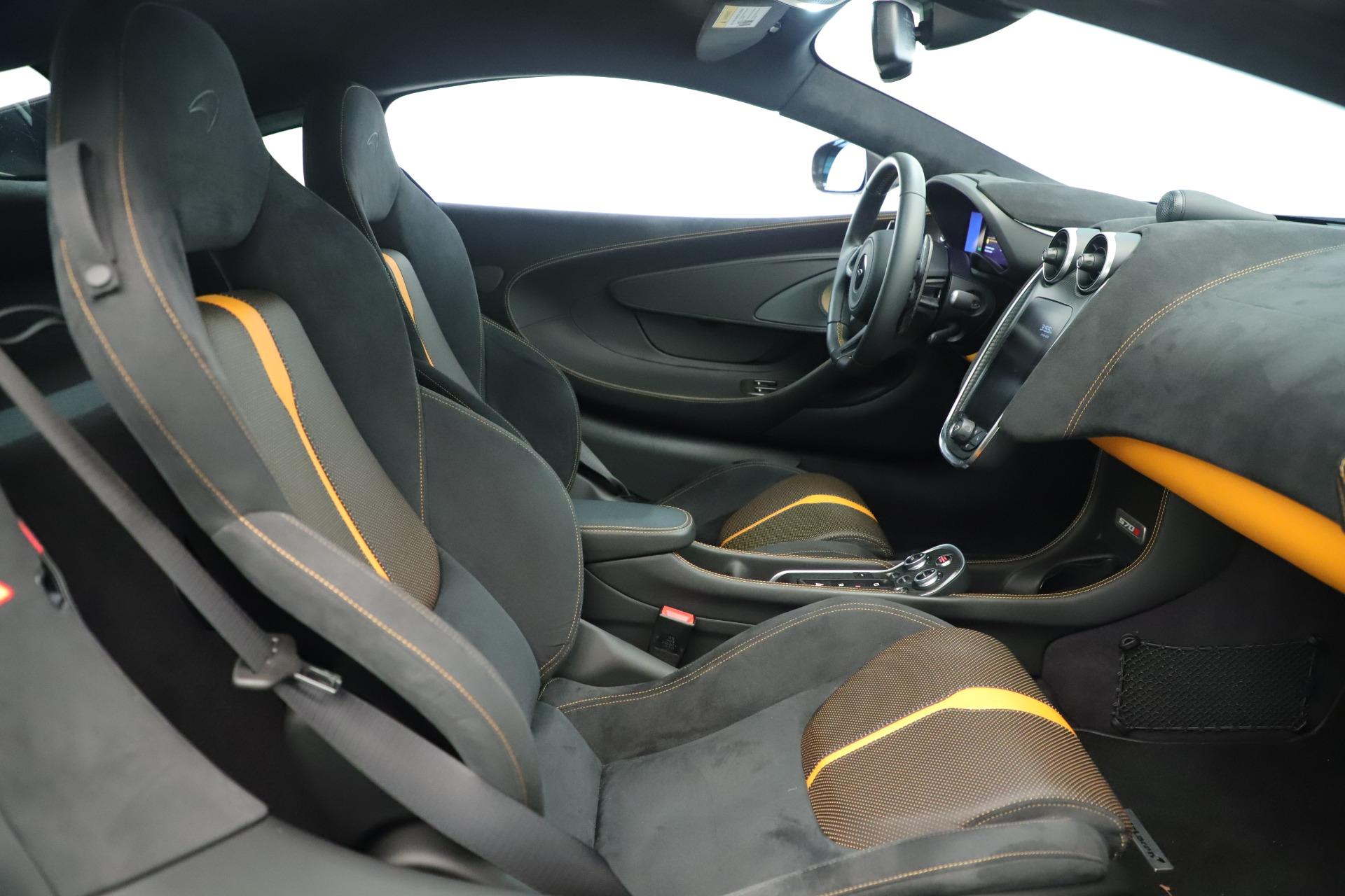 Used 2016 McLaren 570S Coupe For Sale In Westport, CT 3433_p17