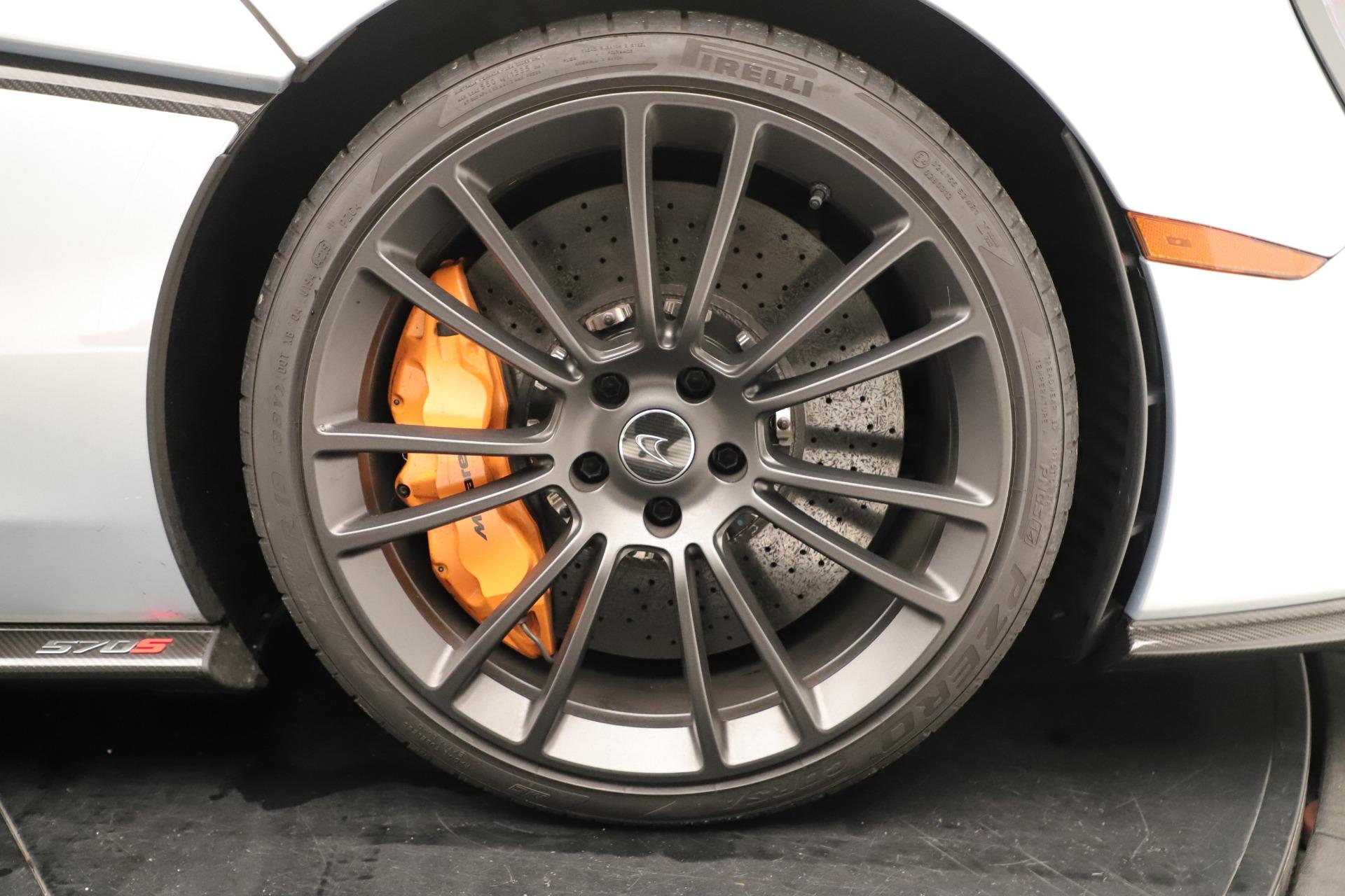 Used 2016 McLaren 570S Coupe For Sale In Westport, CT 3433_p19