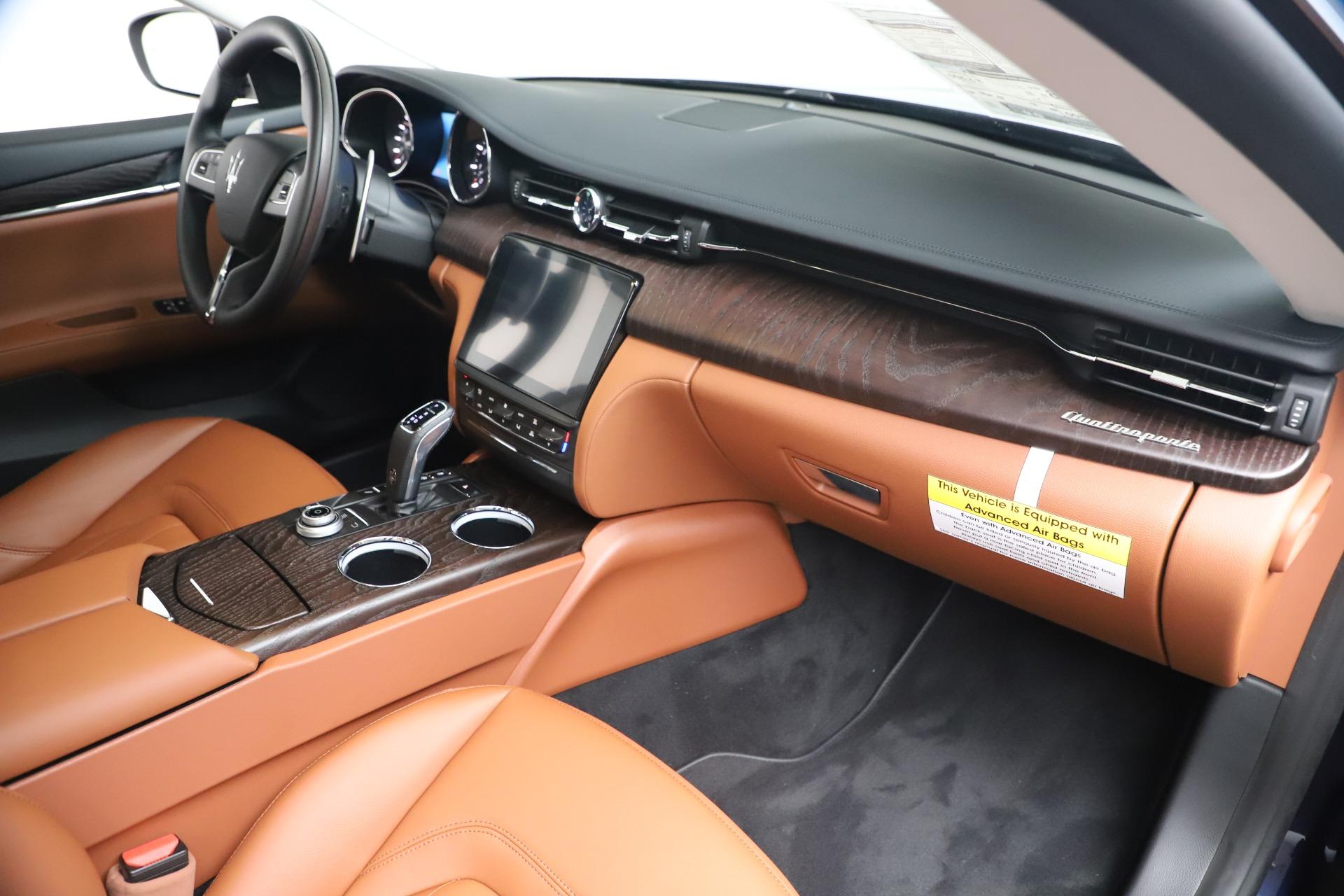 New 2019 Maserati Quattroporte S Q4 For Sale In Westport, CT 3440_p22
