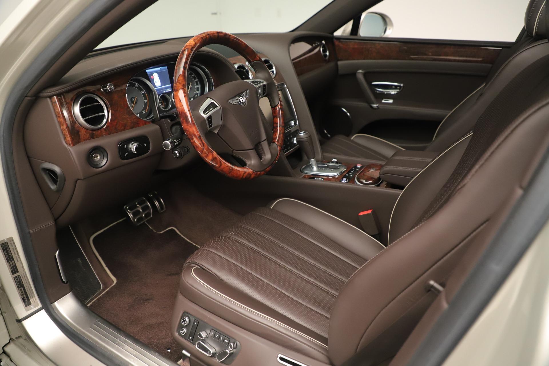 Used 2015 Bentley Flying Spur V8 For Sale In Westport, CT 3444_p16