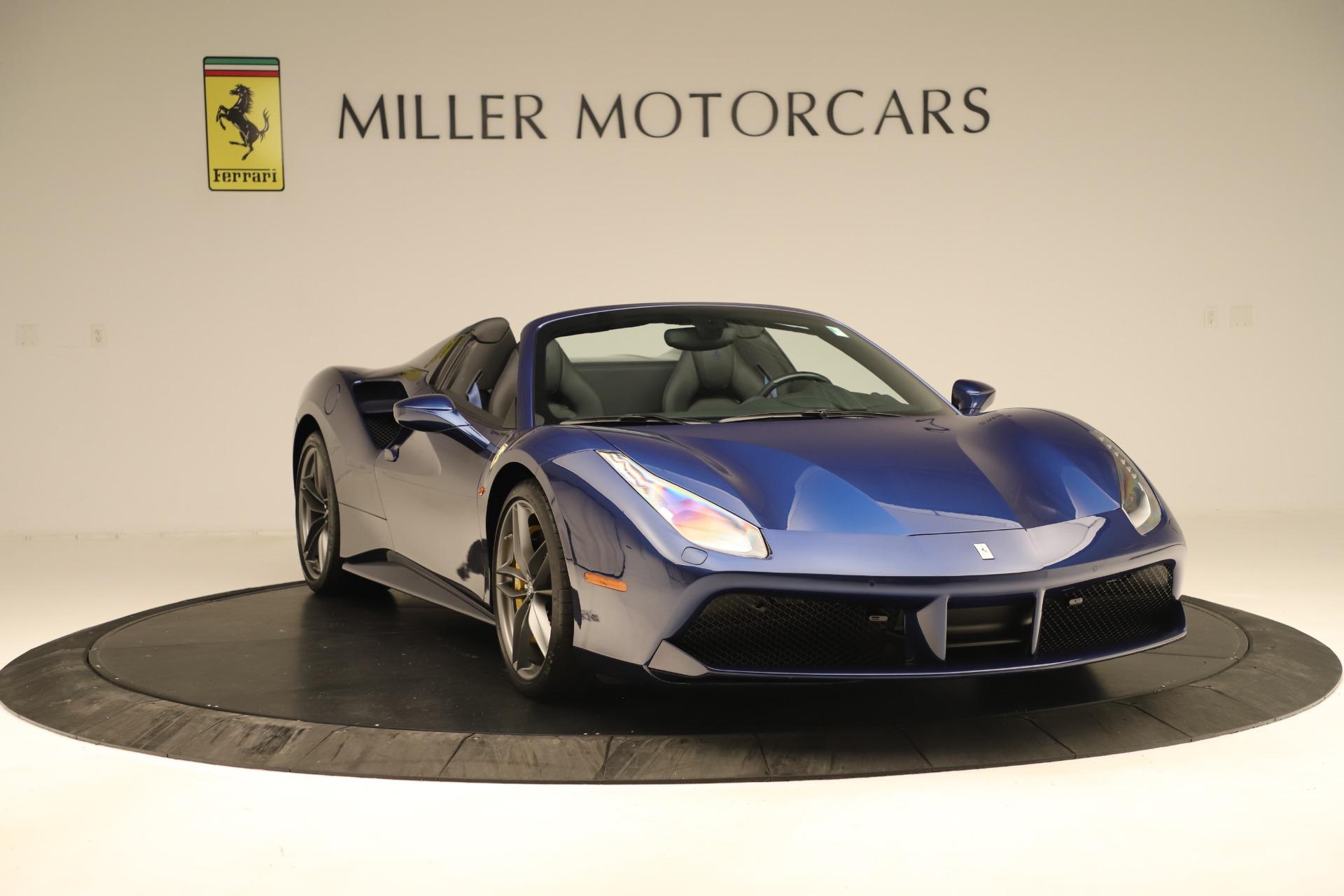 Used 2019 Ferrari 488 Spider  For Sale In Westport, CT 3448_p11