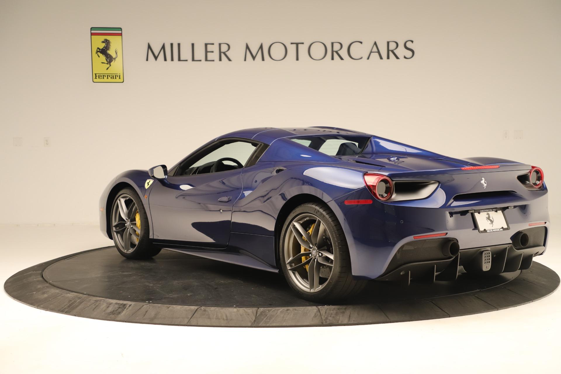 Used 2019 Ferrari 488 Spider  For Sale In Westport, CT 3448_p15