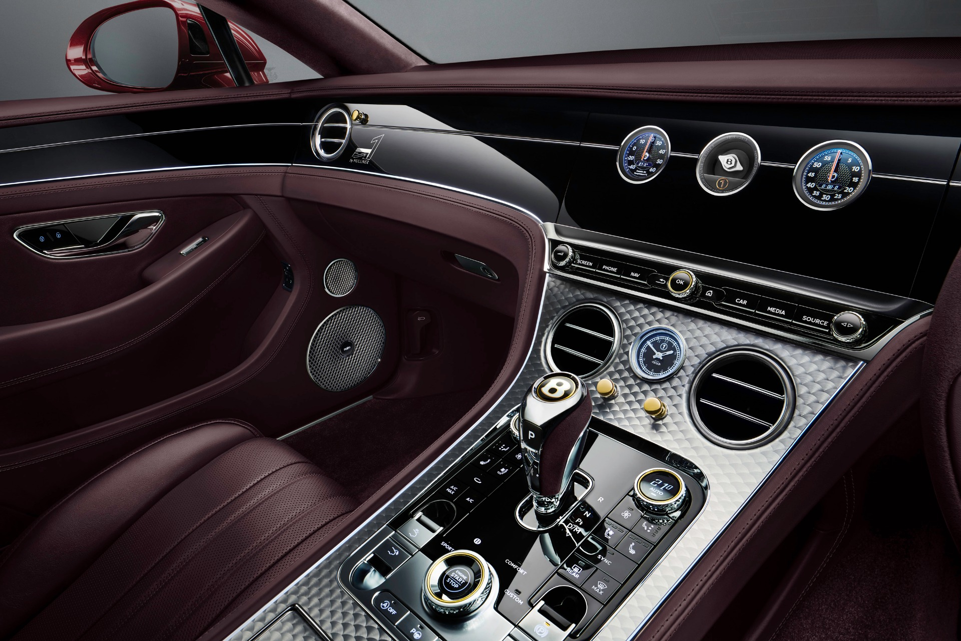 New 2020 Bentley Continental GTC W12 Number 1 Edition by Mulliner For Sale In Westport, CT 3467_p4