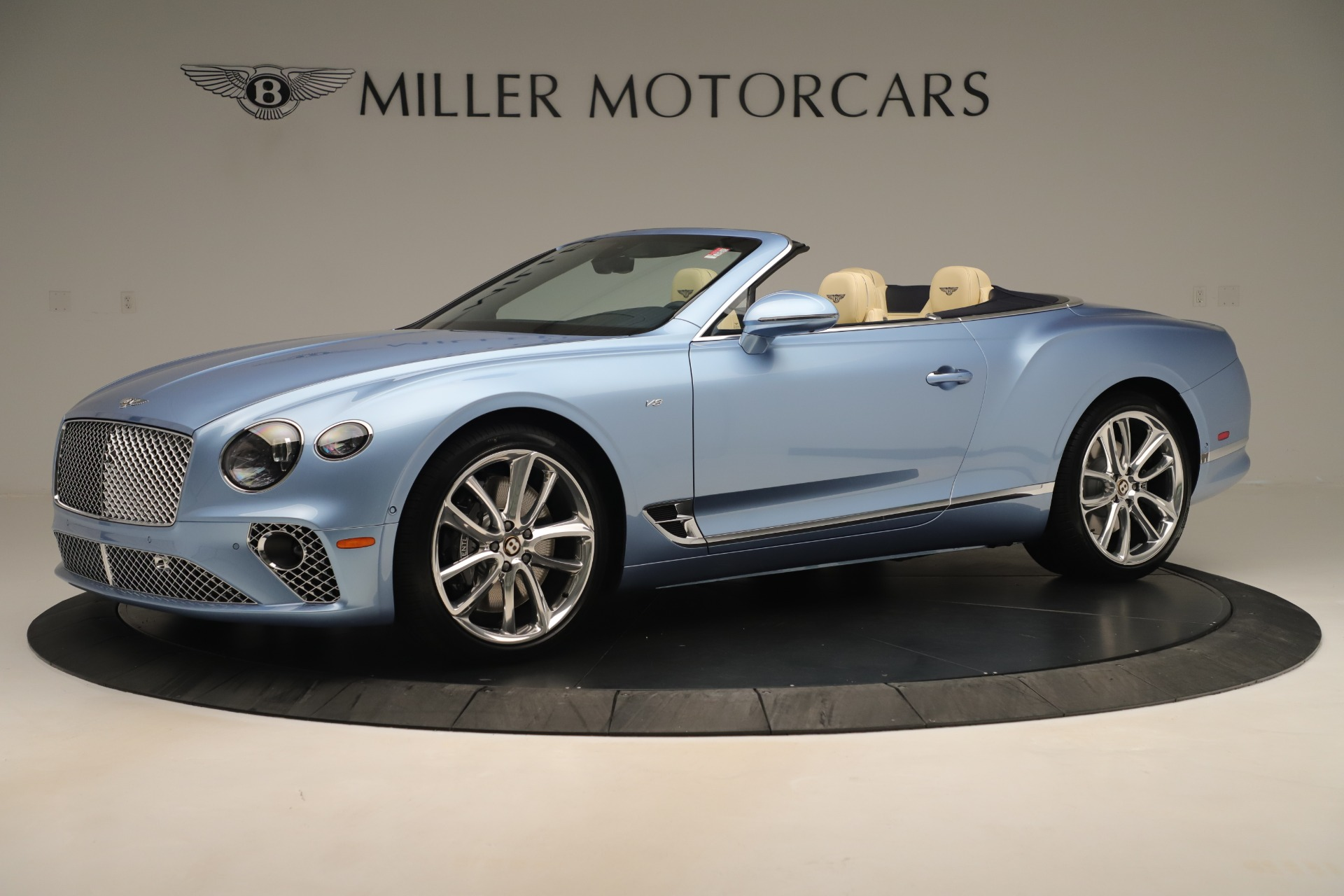 Used 2020 Bentley Continental GTC V8 For Sale In Westport, CT 3472_p2
