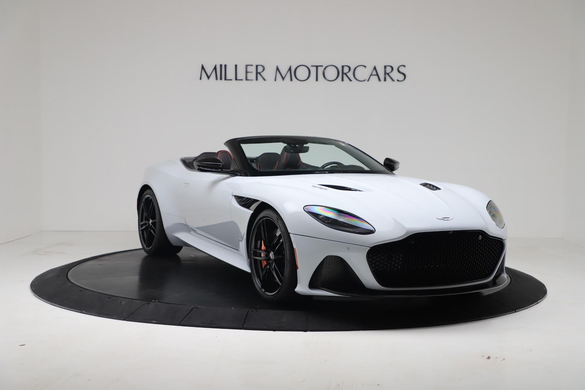 New 2020 Aston Martin DBS Superleggera Volante Convertible For Sale In Westport, CT 3484_p10