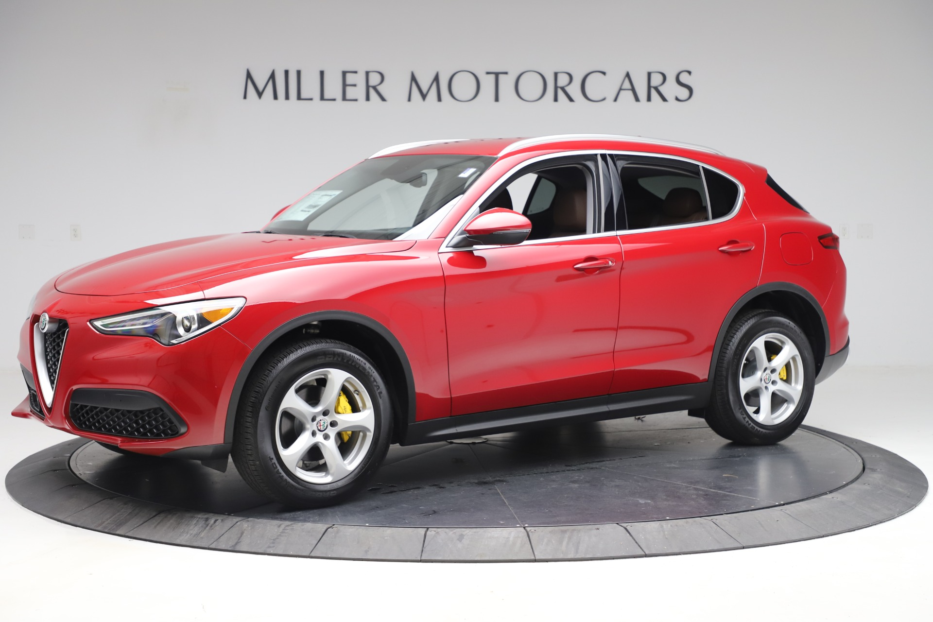 New 2019 Alfa Romeo Stelvio Q4 For Sale In Westport, CT 3530_p2