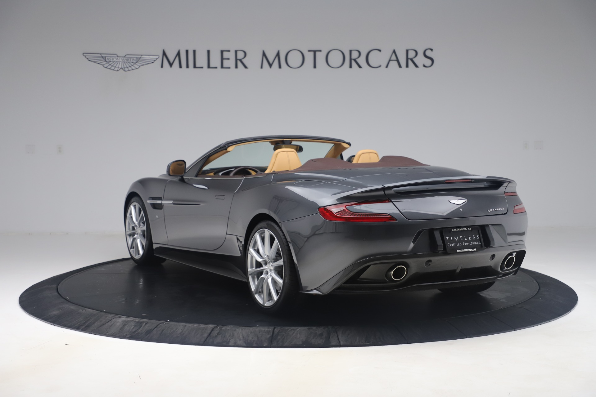 Used 2016 Aston Martin Vanquish Volante For Sale In Westport, CT 3542_p4