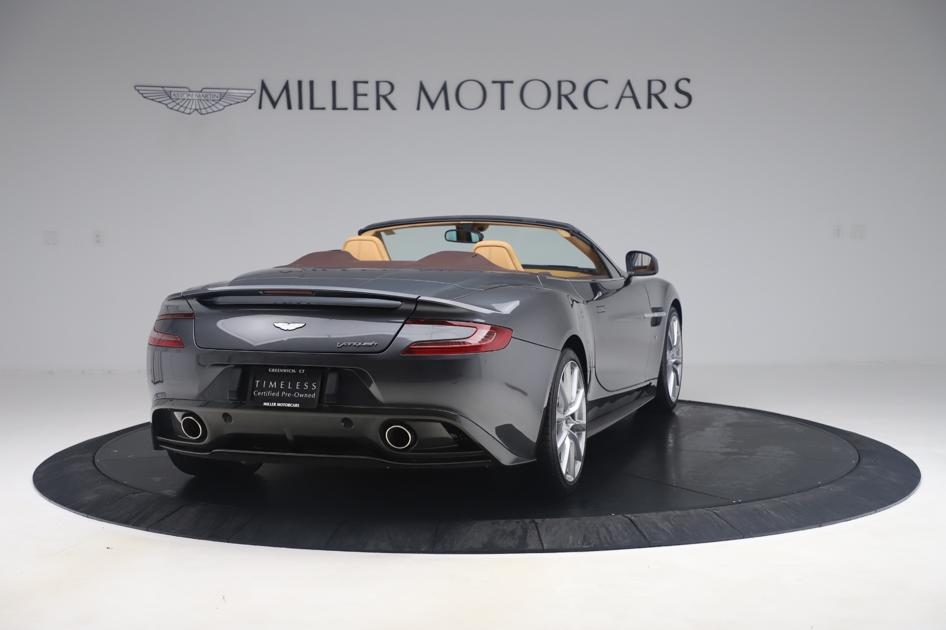 Used 2016 Aston Martin Vanquish Volante For Sale In Westport, CT 3542_p6