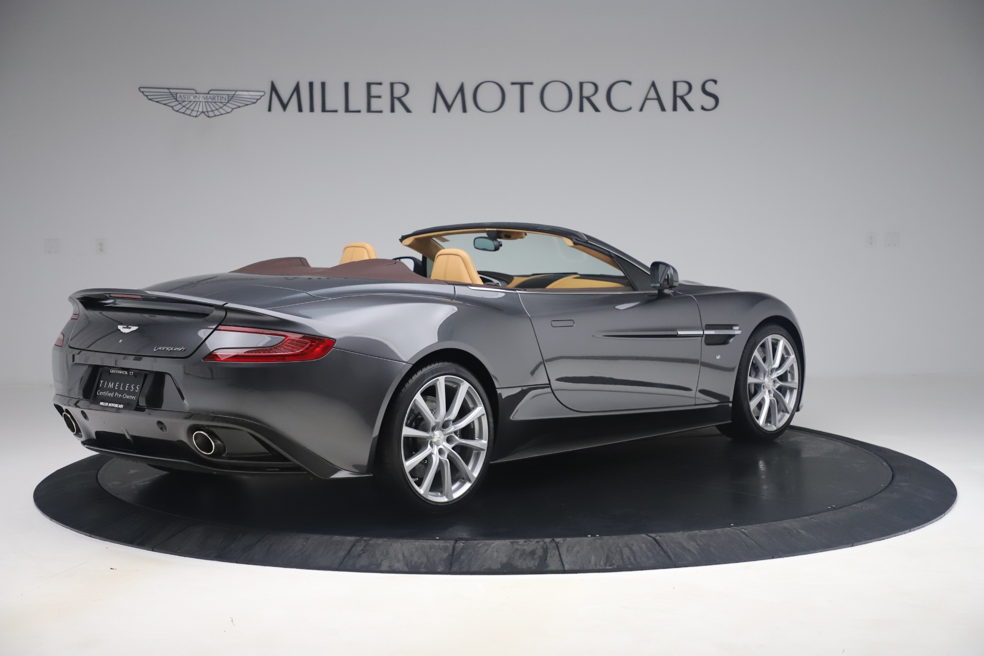 Used 2016 Aston Martin Vanquish Volante For Sale In Westport, CT 3542_p7