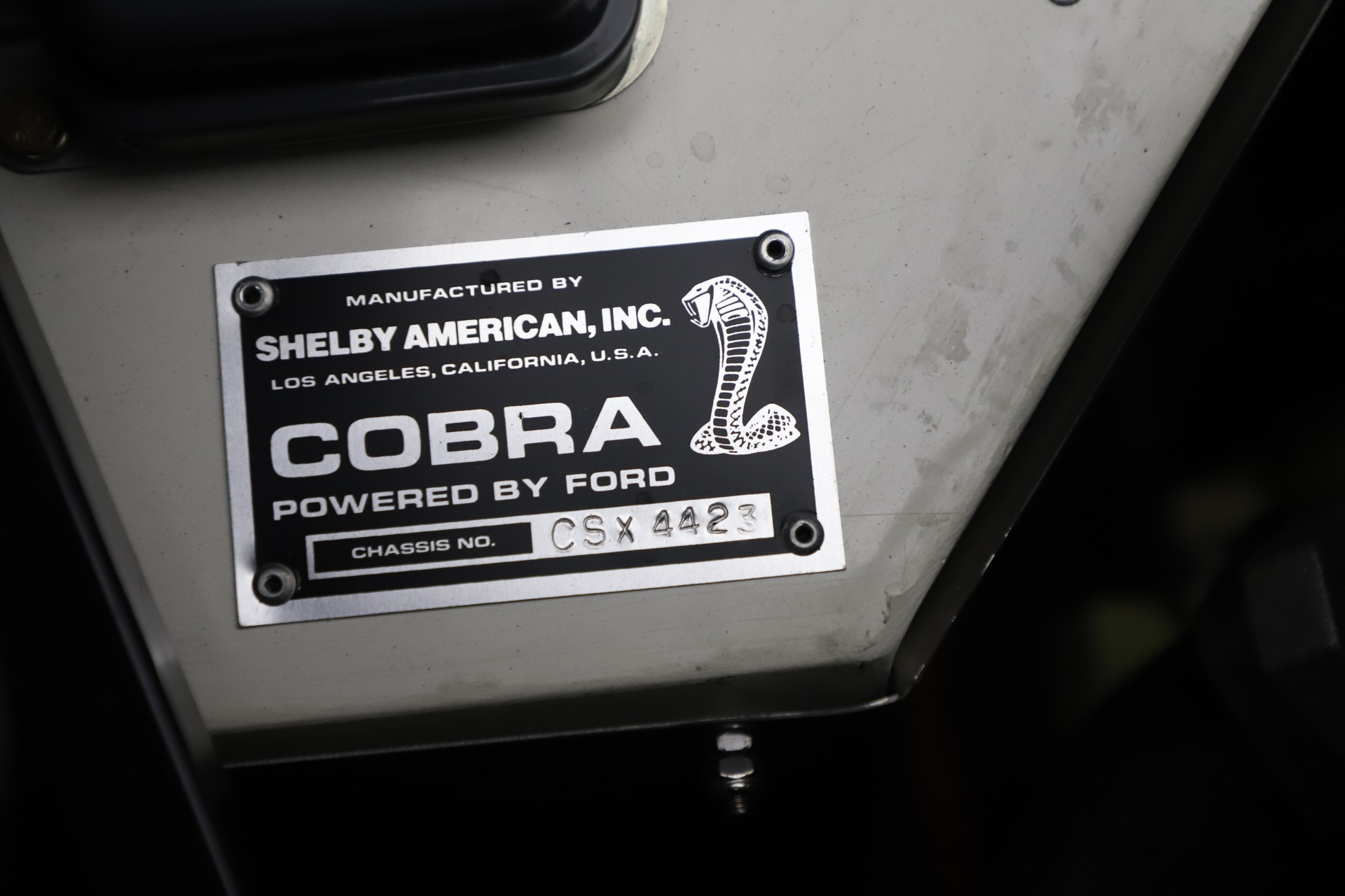 Used 1965 Ford Cobra CSX For Sale In Westport, CT 3558_p14