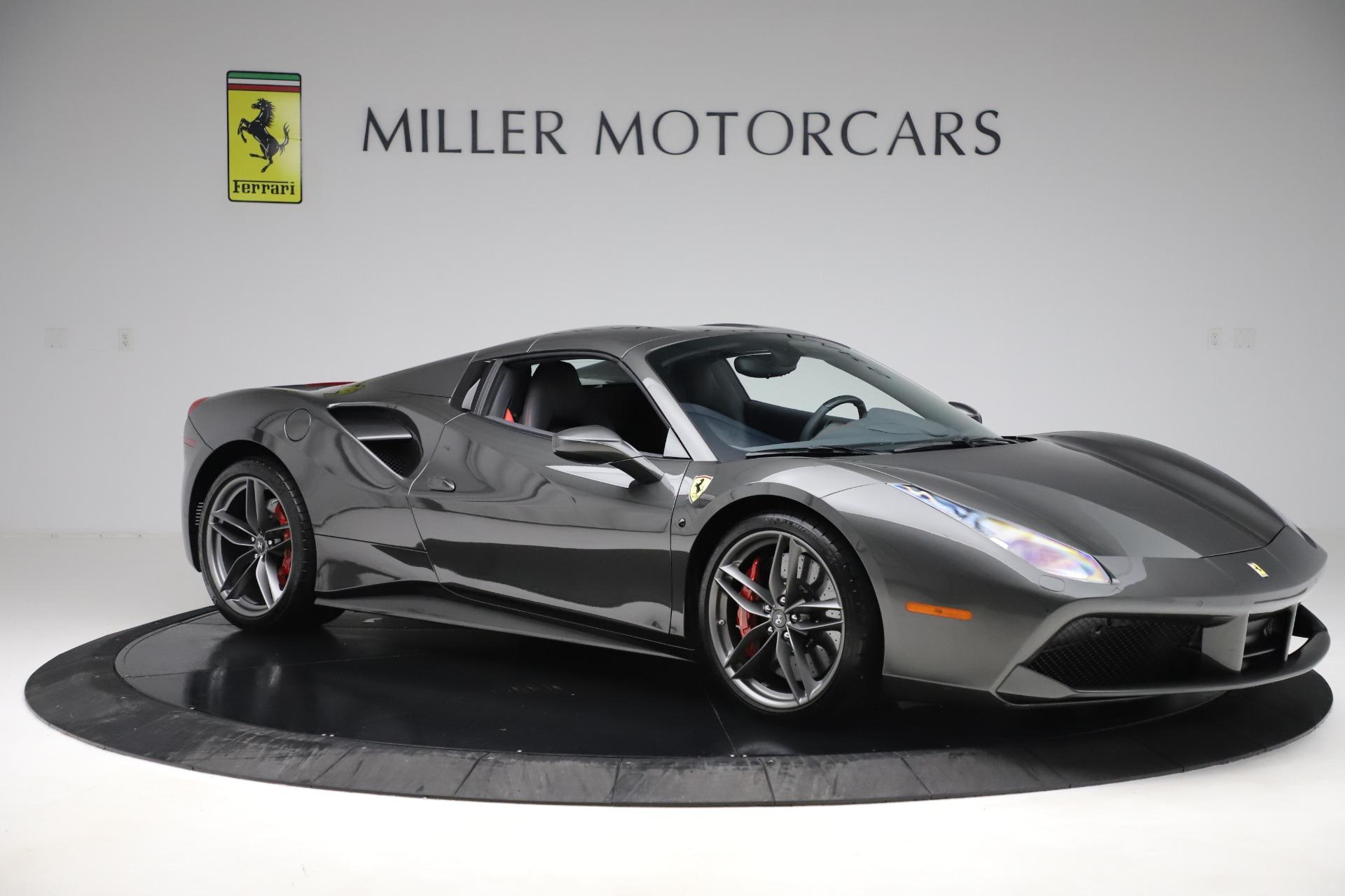 Used 2018 Ferrari 488 Spider  For Sale In Westport, CT 3584_p17