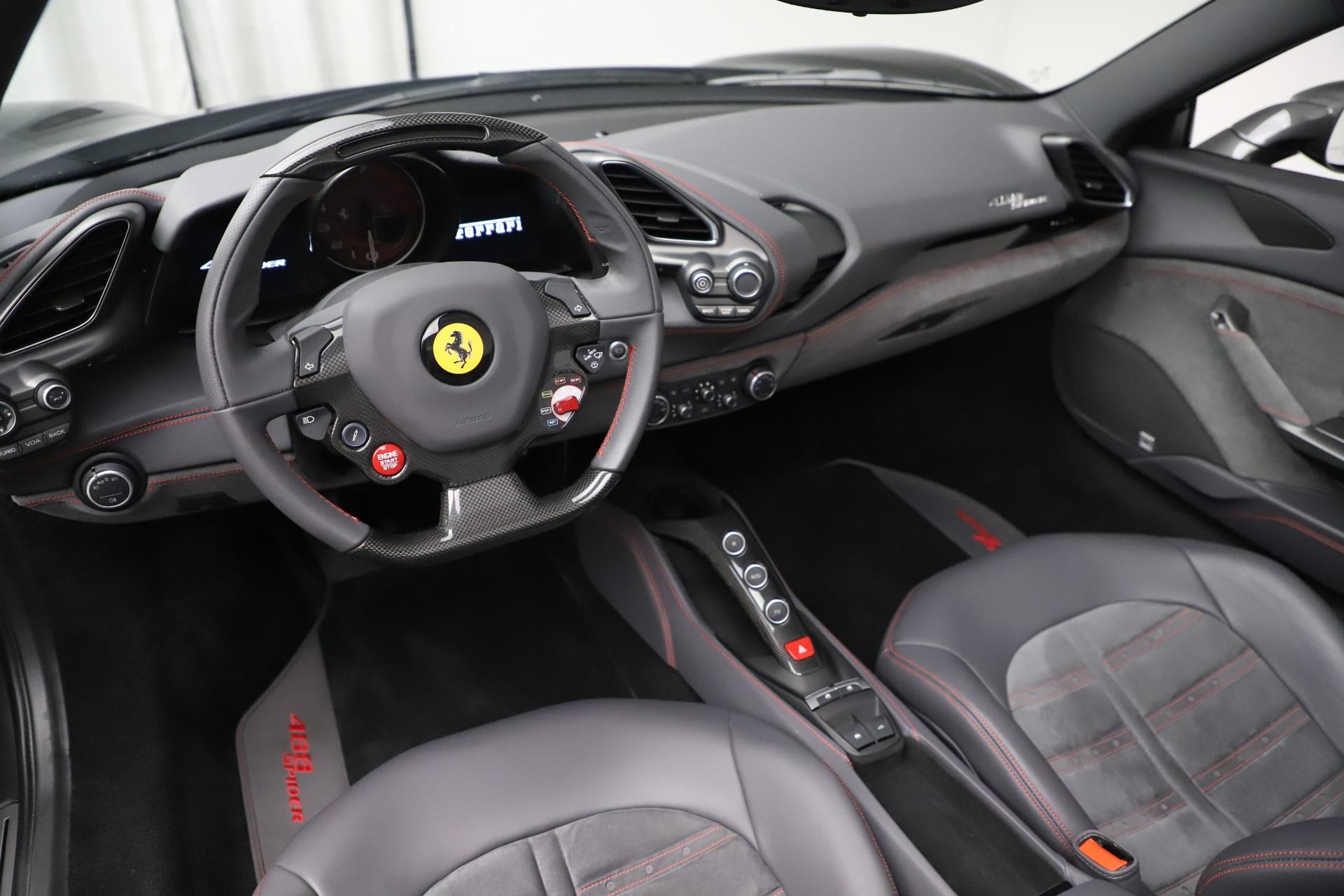 Used 2018 Ferrari 488 Spider  For Sale In Westport, CT 3584_p19
