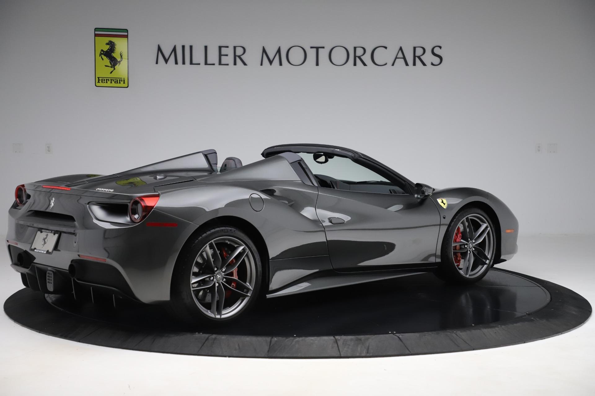 Used 2018 Ferrari 488 Spider  For Sale In Westport, CT 3584_p8