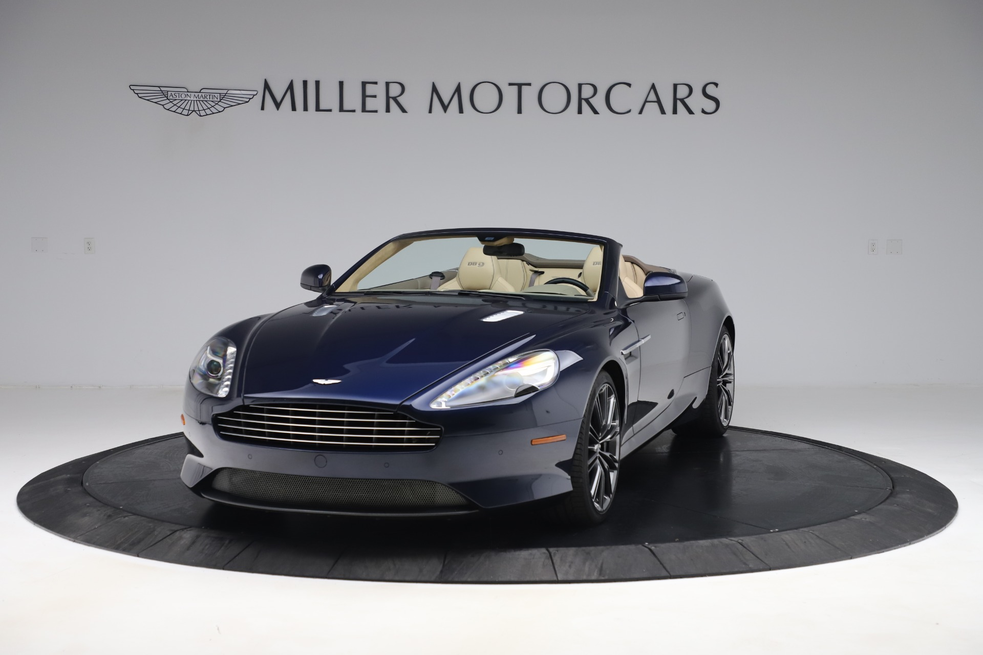 Used 2014 Aston Martin DB9 Volante For Sale In Westport, CT 3591_main