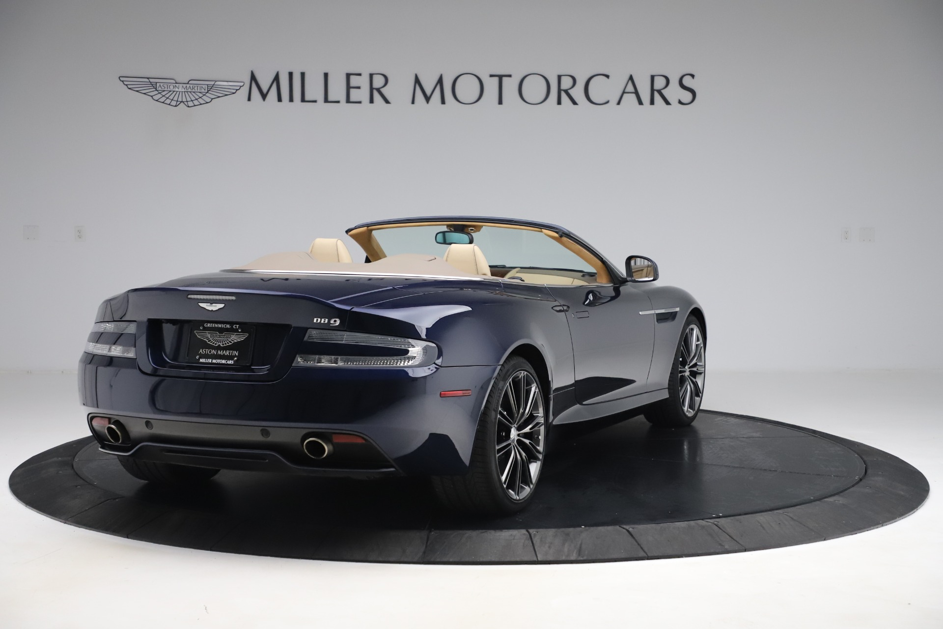 Used 2014 Aston Martin DB9 Volante For Sale In Westport, CT 3591_p7