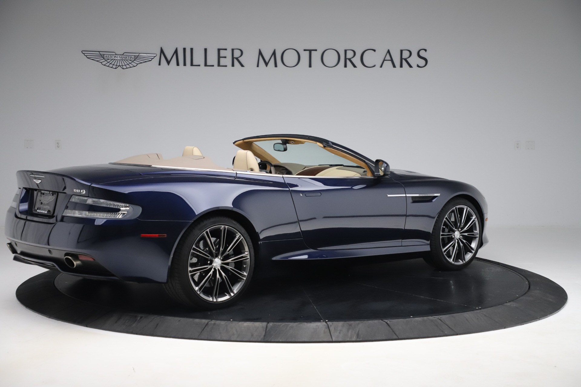 Used 2014 Aston Martin DB9 Volante For Sale In Westport, CT 3591_p8