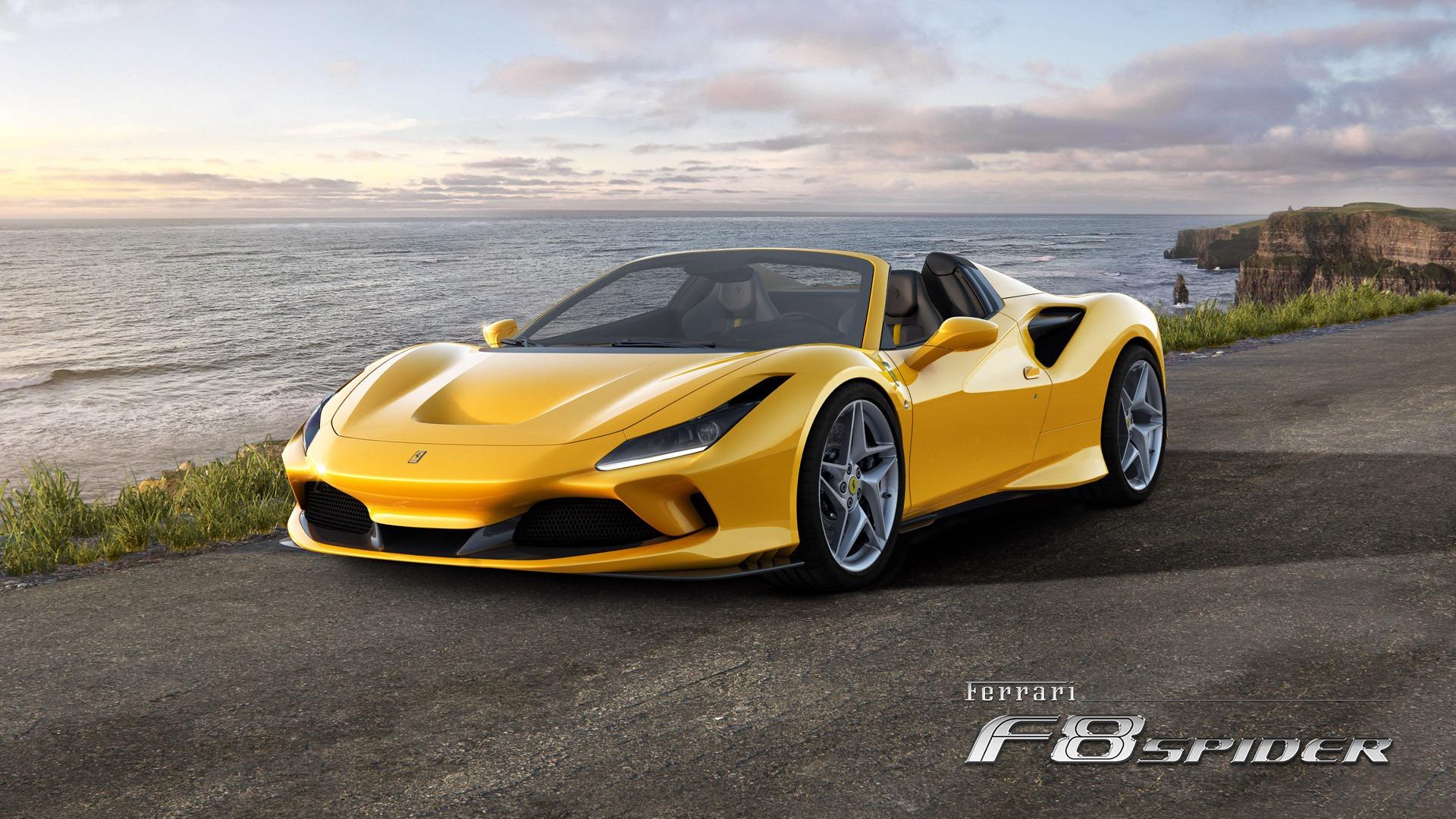 New 2020 Ferrari F8 Spider  For Sale In Westport, CT 3592_main