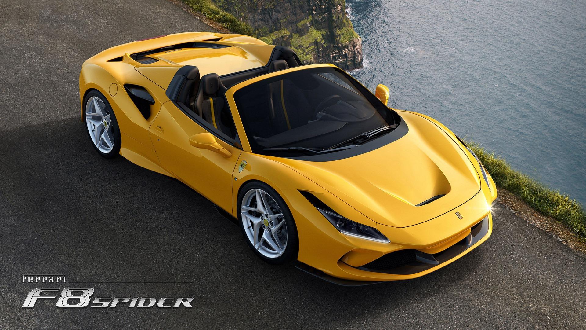 New 2020 Ferrari F8 Spider  For Sale In Westport, CT 3592_p3