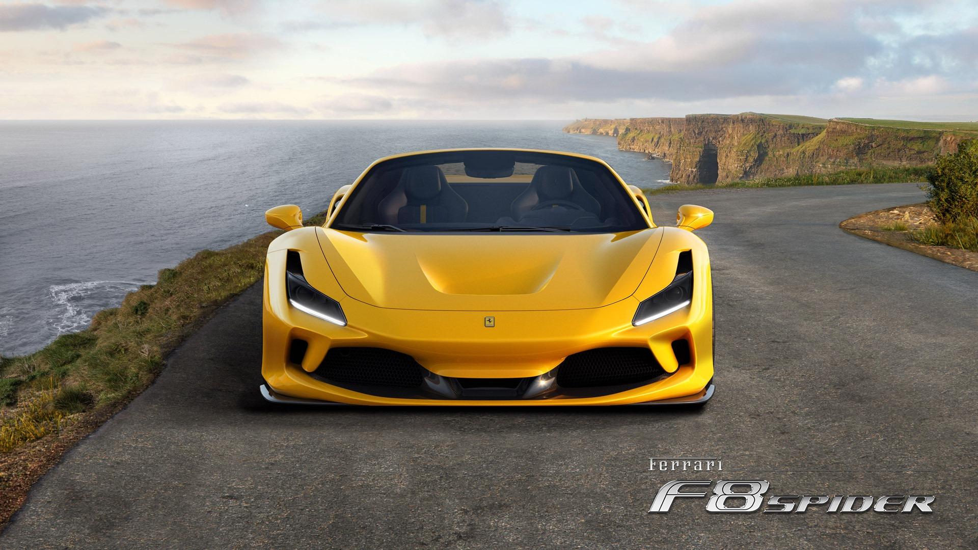 New 2020 Ferrari F8 Spider  For Sale In Westport, CT 3592_p5