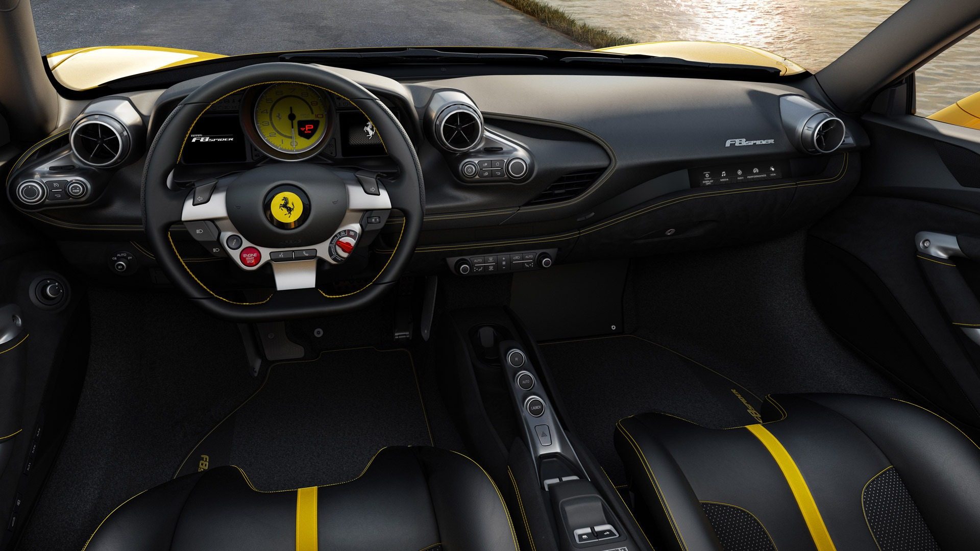 New 2020 Ferrari F8 Spider  For Sale In Westport, CT 3592_p8